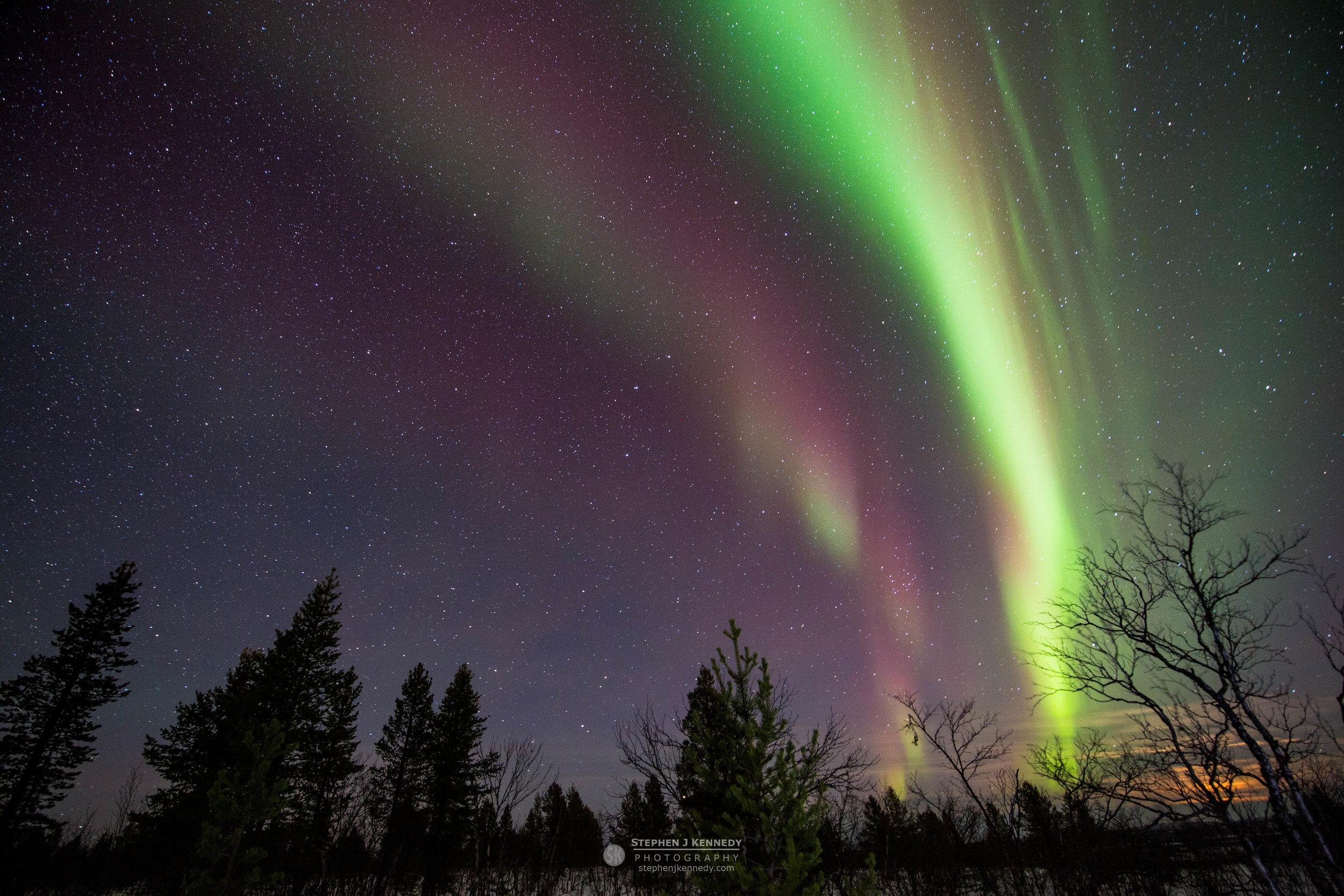 Iridescent Arc - Karesuvanto, Finland