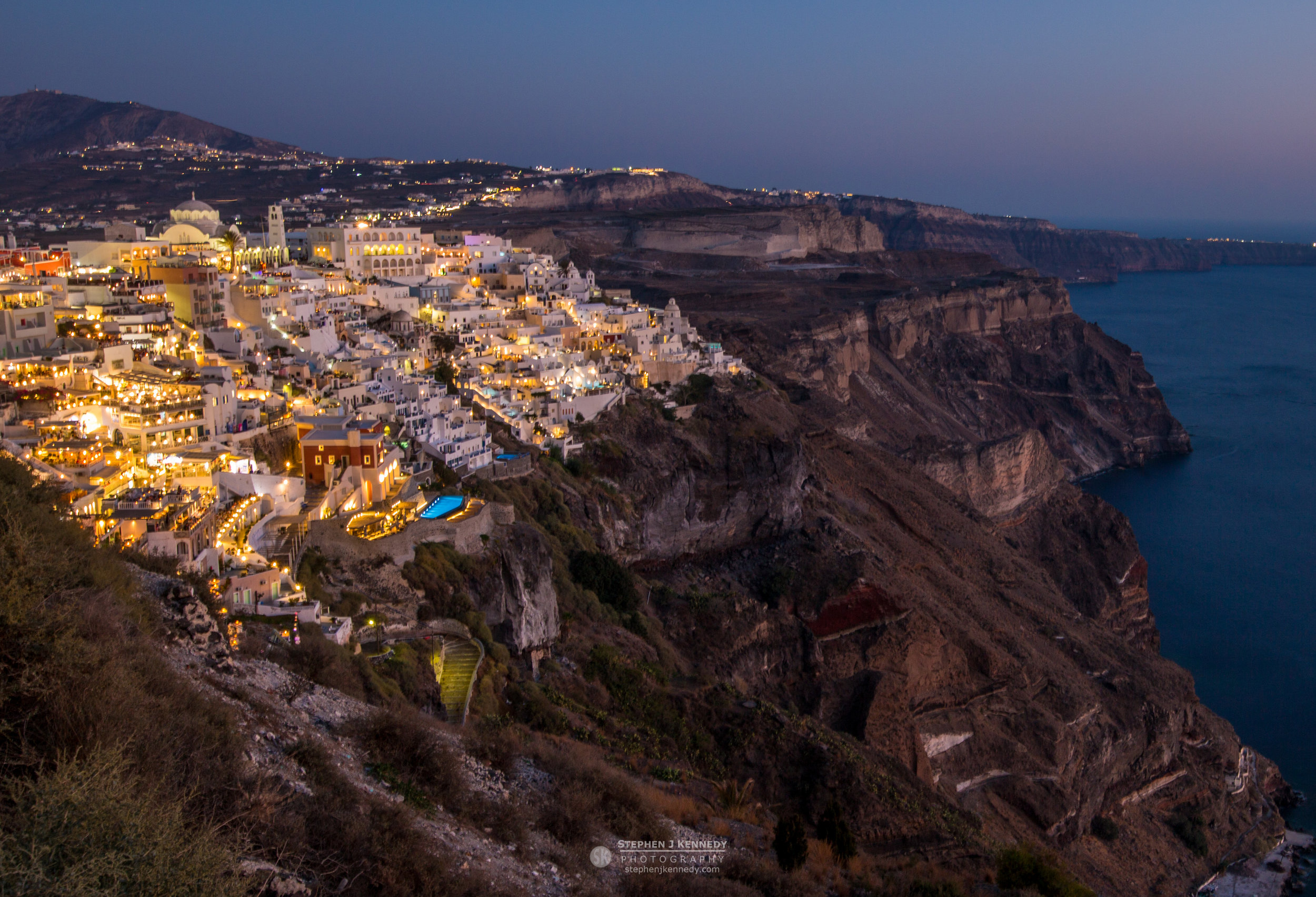 Fira by Night