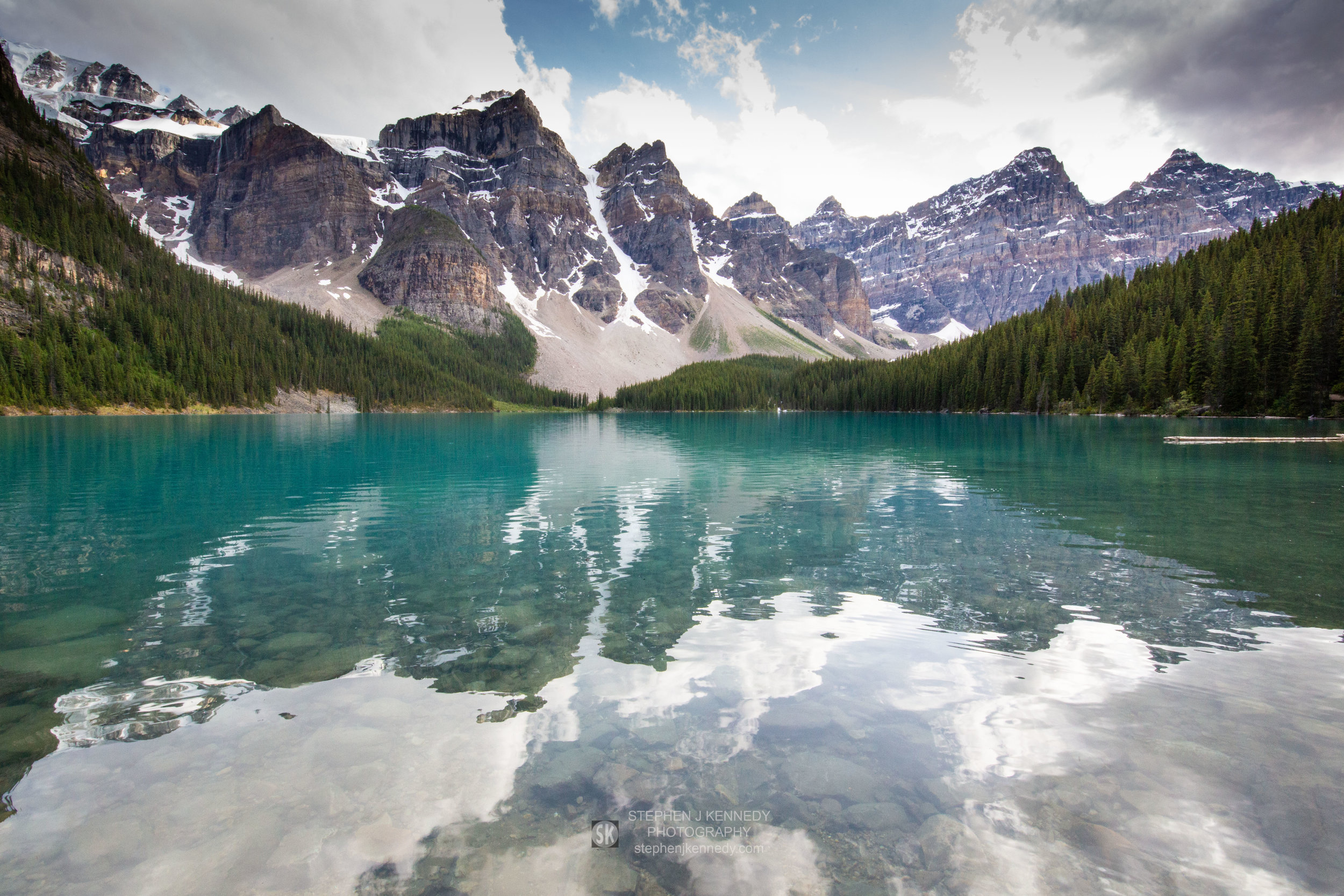 Moraine Lake Reflections