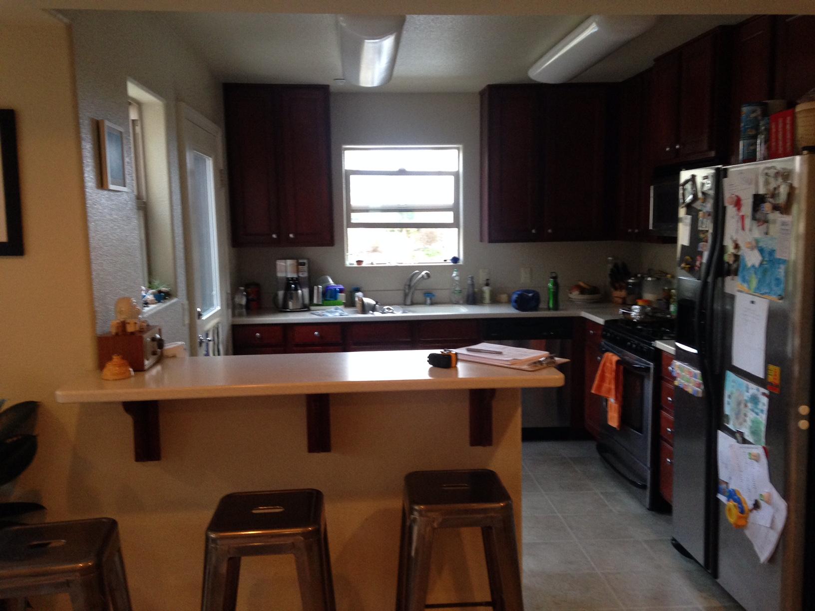 Morro Bay Kitchen Renovation: Before