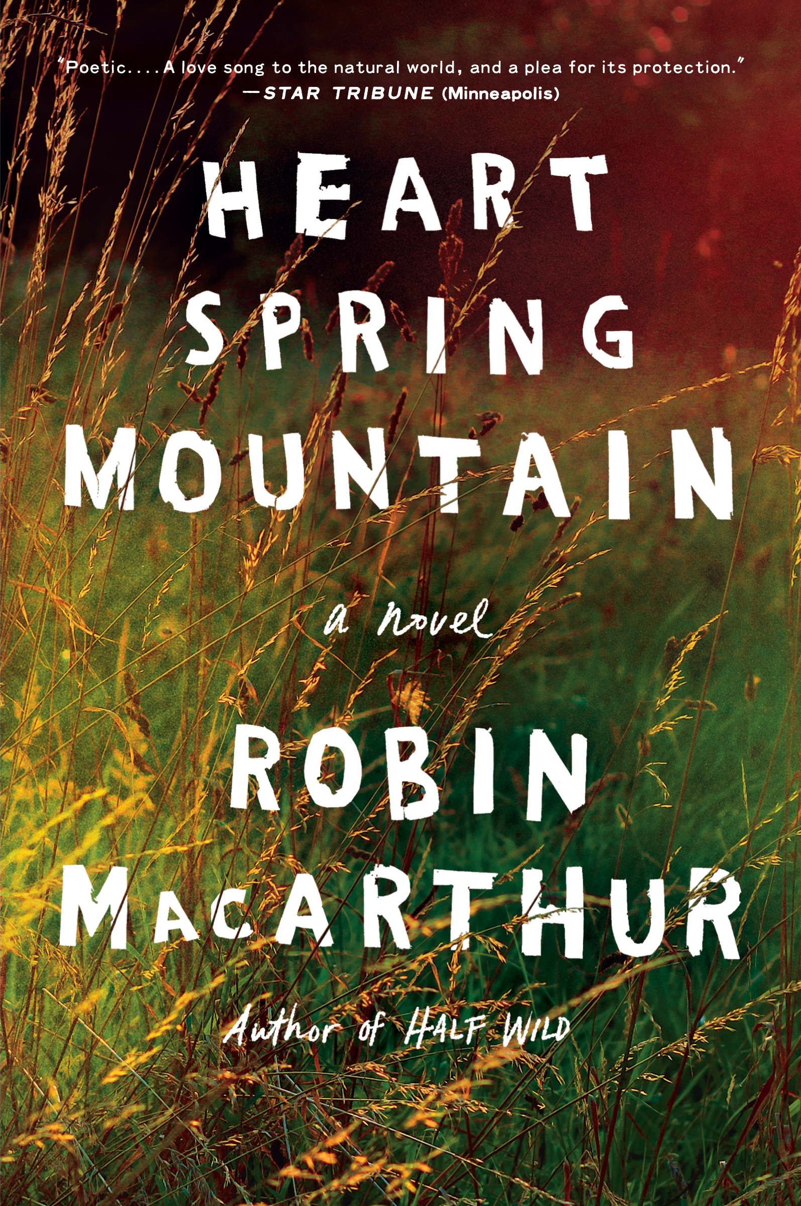 HEART SPRING MOUNTAIN PAPERBACK -