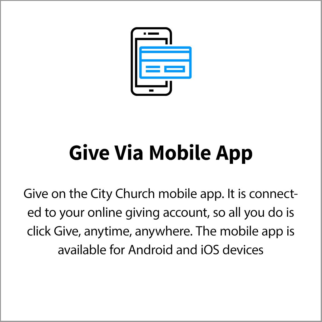 Giving City Church