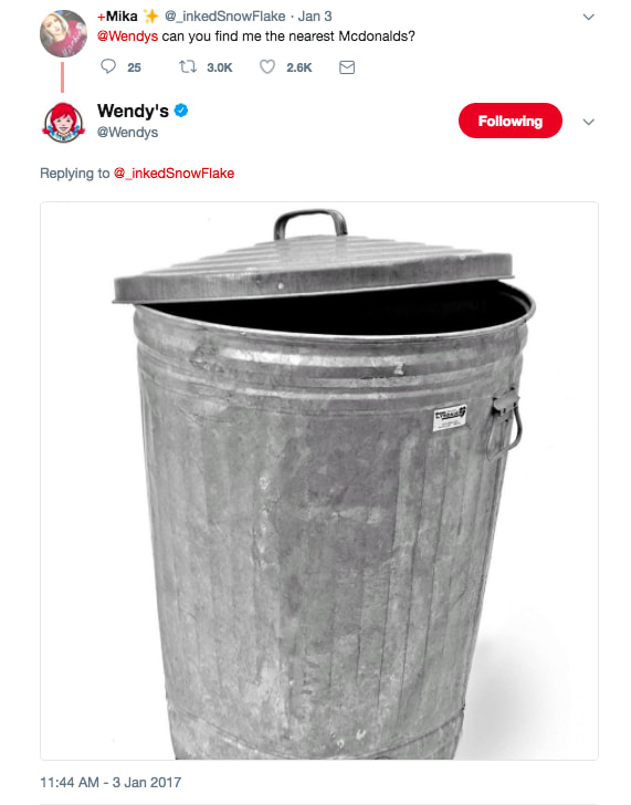WENDY'S ✓ 😆 -