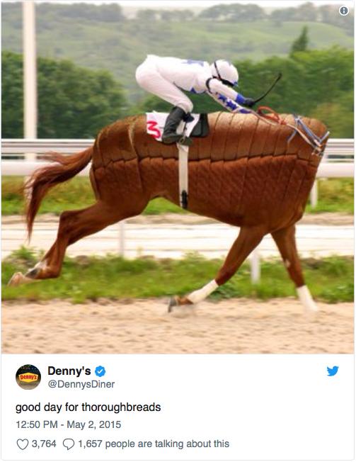 DENNY'S ✓ 🐎 -