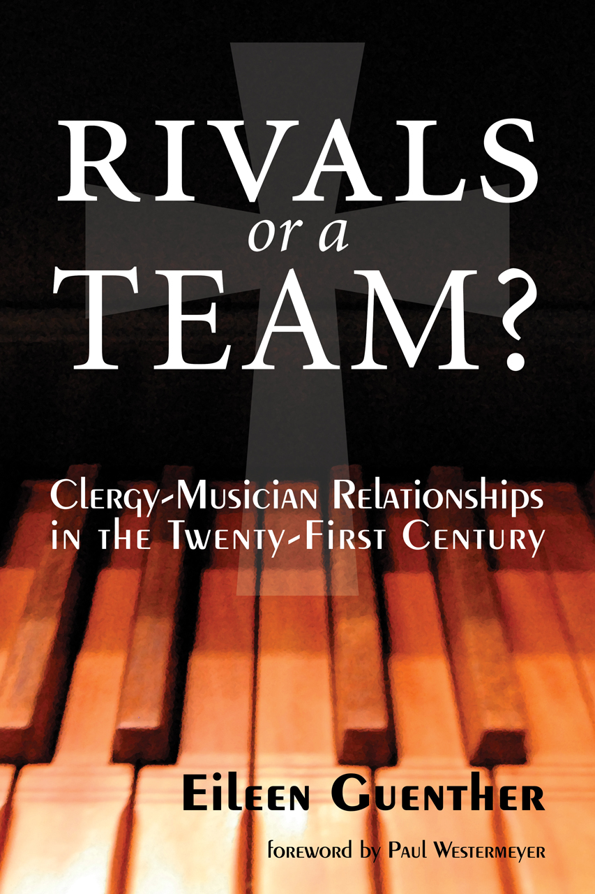 Rivals or a Team? - Collaboration between clergy and musicians is vital to the ministry of the Christian church. This book explores the importance of teamwork, identifying ways in which musicians and clergy can exercise their separate roles effectively and suggesting strategies for building supportive relationships. Including heartfelt testimonies from musicians and clergy, Guenther takes a clear-eyed look at conflict, reasons musicians leave a church, and approaches for transition when the situation just does not work any longer.This distinguished church musician and seminary professor encourages musicians and clergy to work together with mutuality and collegiality in order to fulfill the promise of their ministry.