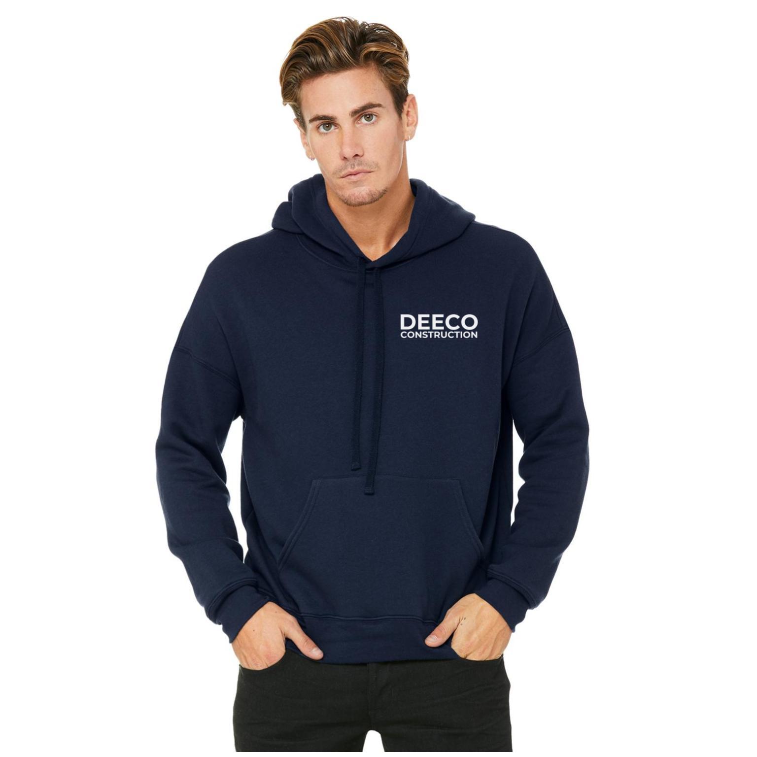 hoodie merch - navy tri blend white text front.jpg