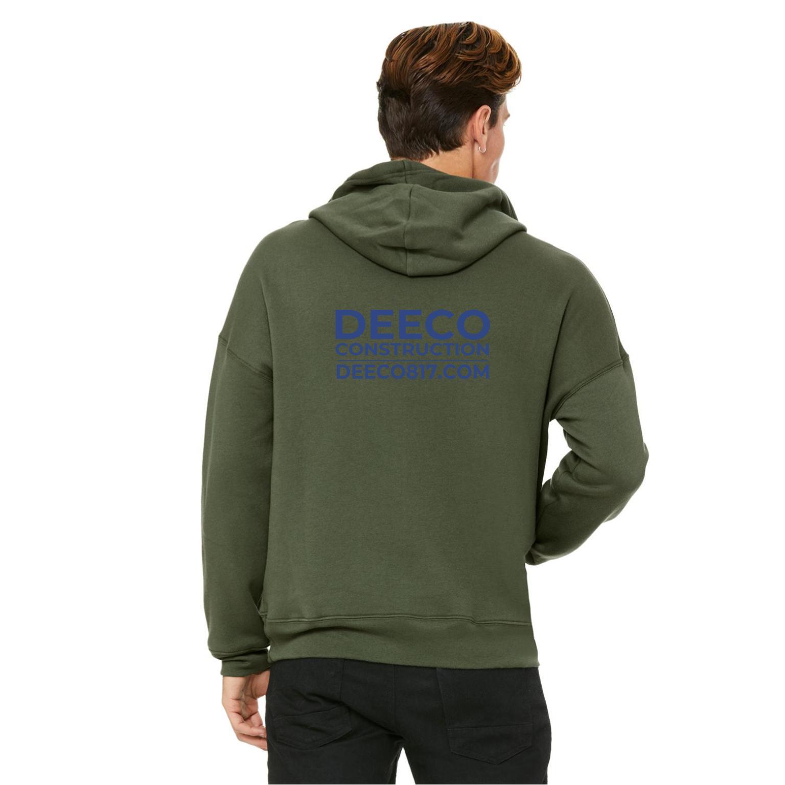 hoodie merch - military green navy text back.jpg