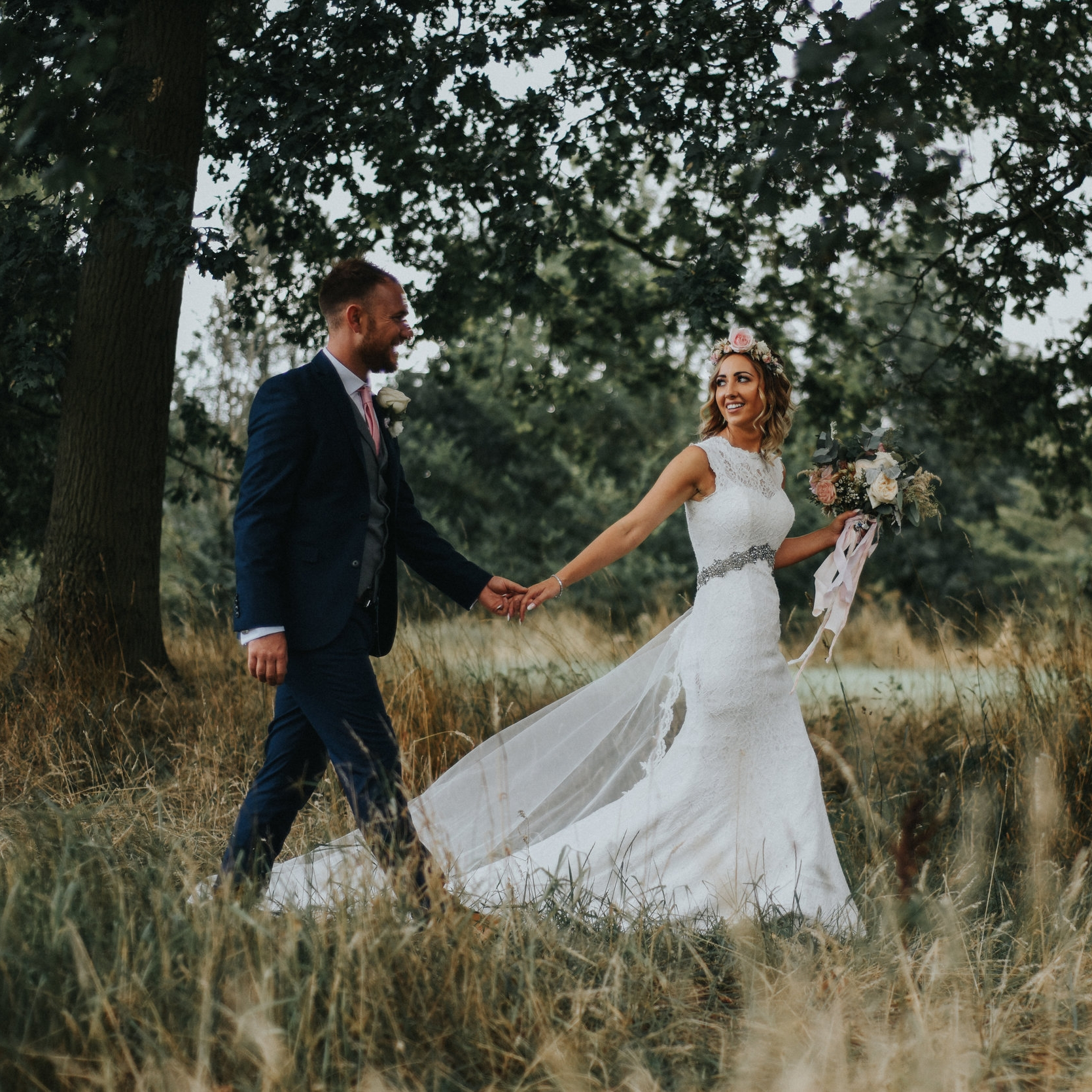 THE FUGETTS - SOPHIE & SAM AT THE OAK TREE OF PEOVER