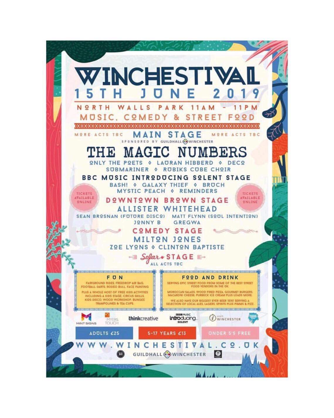 Winchestival - June 2019,Well the rain did not hold us back in Winchester! Saturday, 15th June there was live music, street food two 30 min yoga classes with me in the big tent!