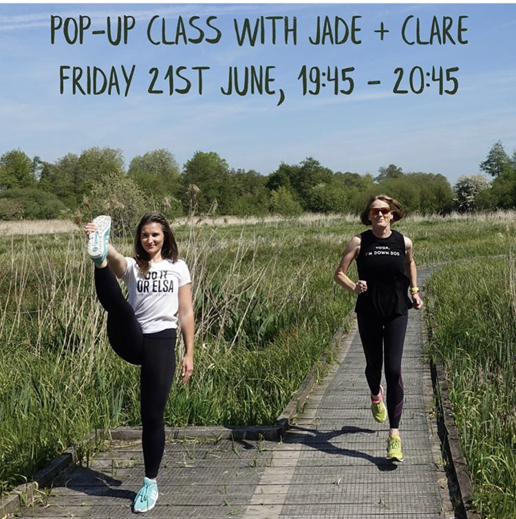 Summer solstice Mid runner and yoga! - 2K run followed by yoga at the top of St Catherine's hill. What better way to spend the longest day of the year!