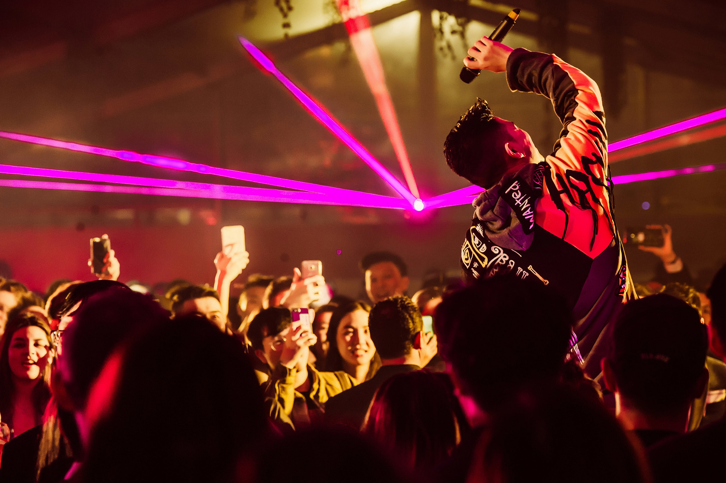 MC Jin brought the night to the next level!