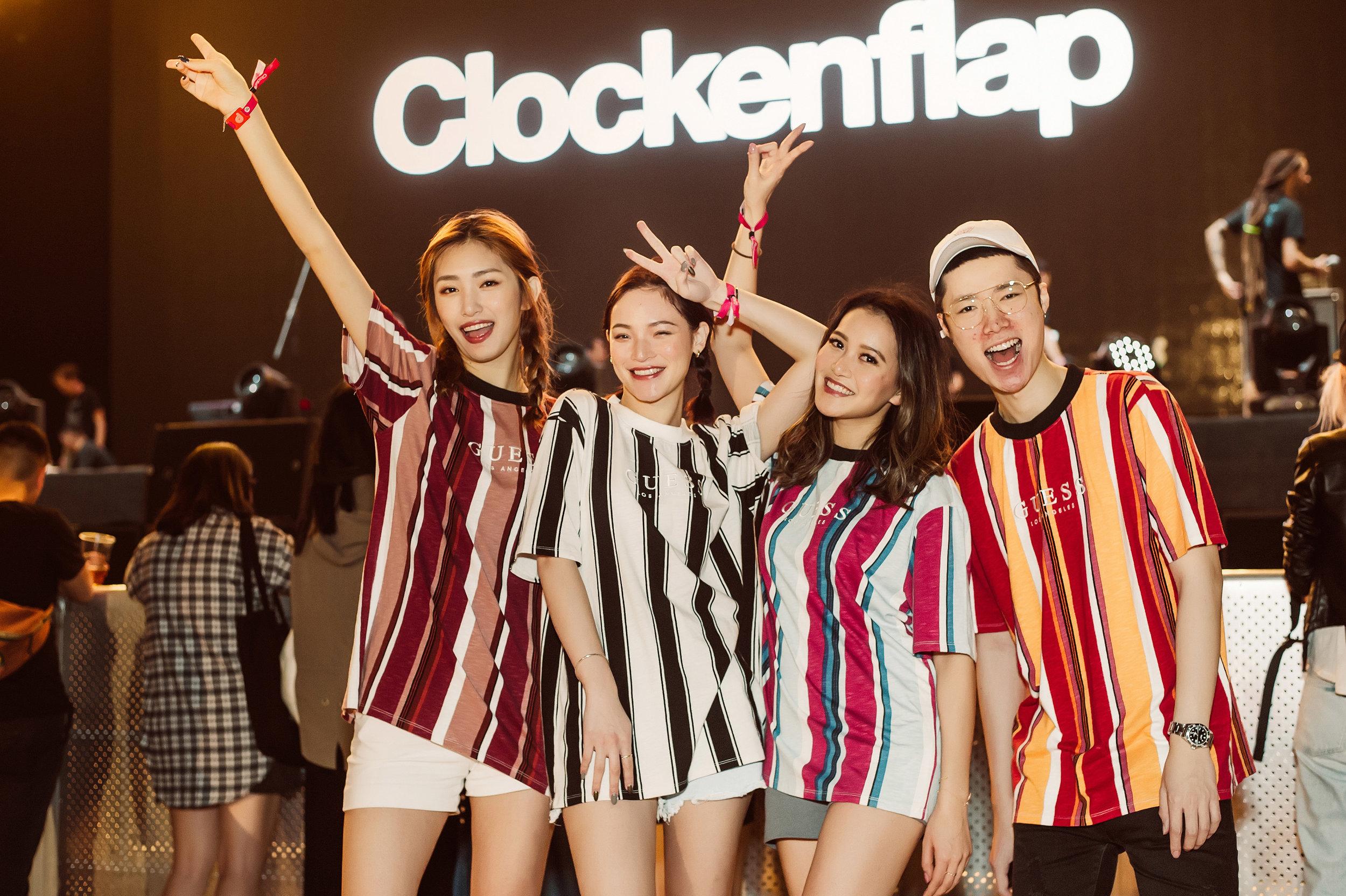 Christine Cheng, Kalin Chiu, Jessica Chow, Gordon Yick