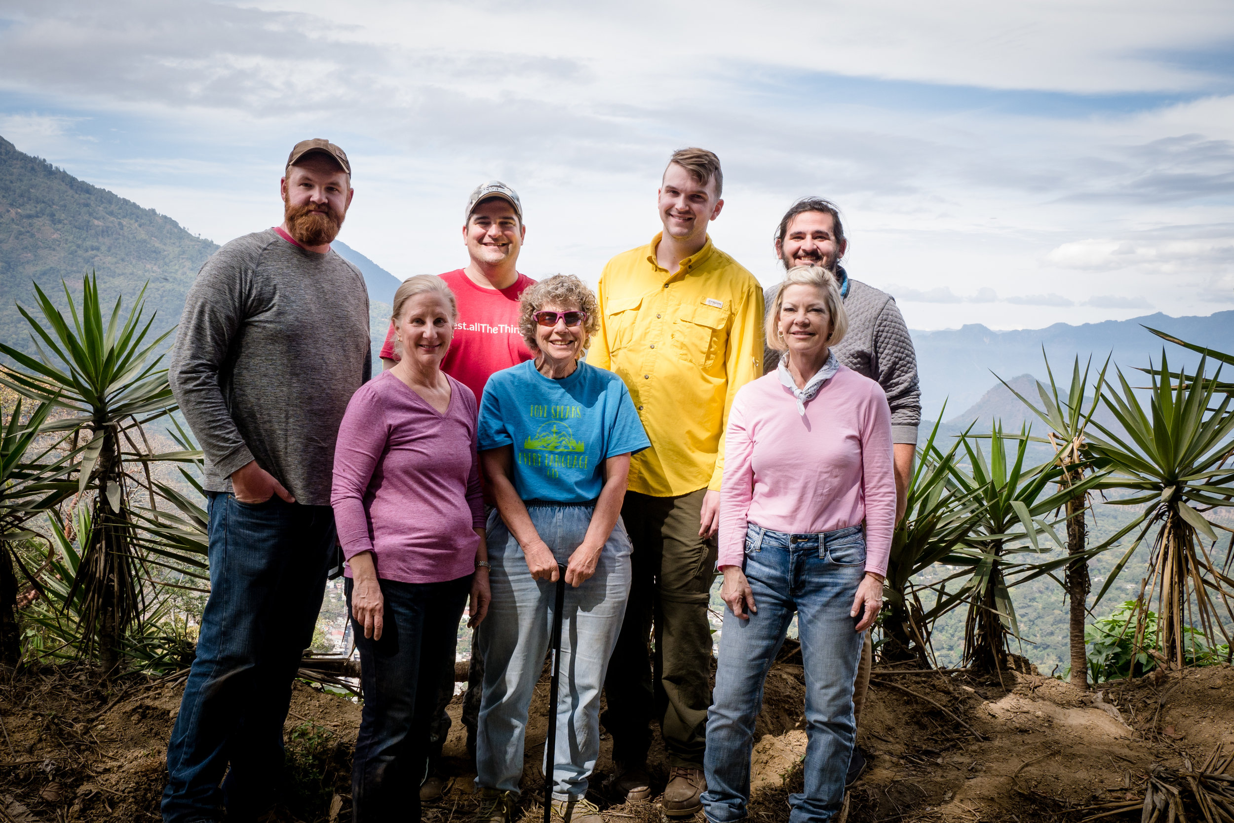 Guatemala Mission Trip Team Pictured with Missionary Teri Lattrell