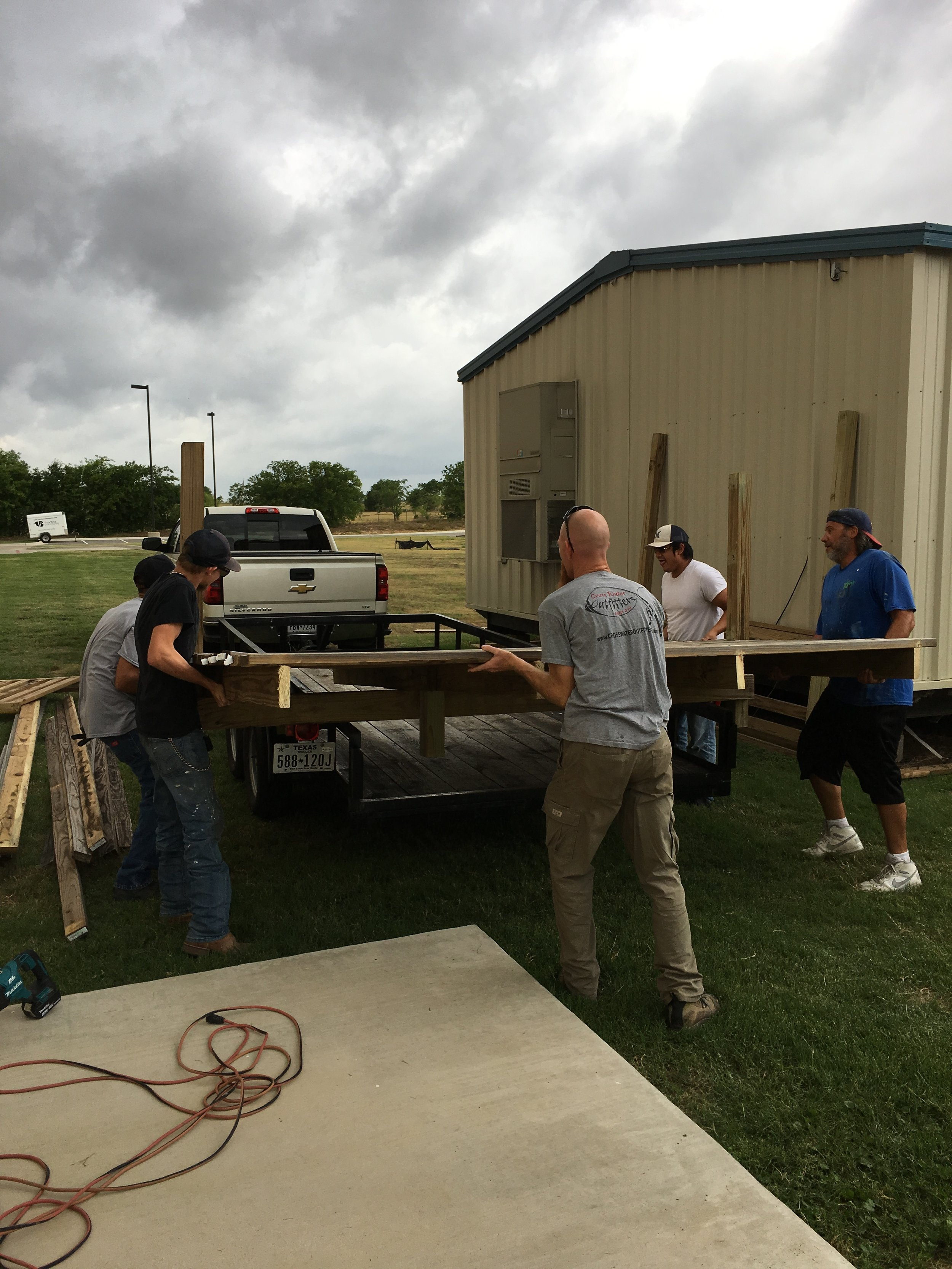 Moving Portables to the Other Side