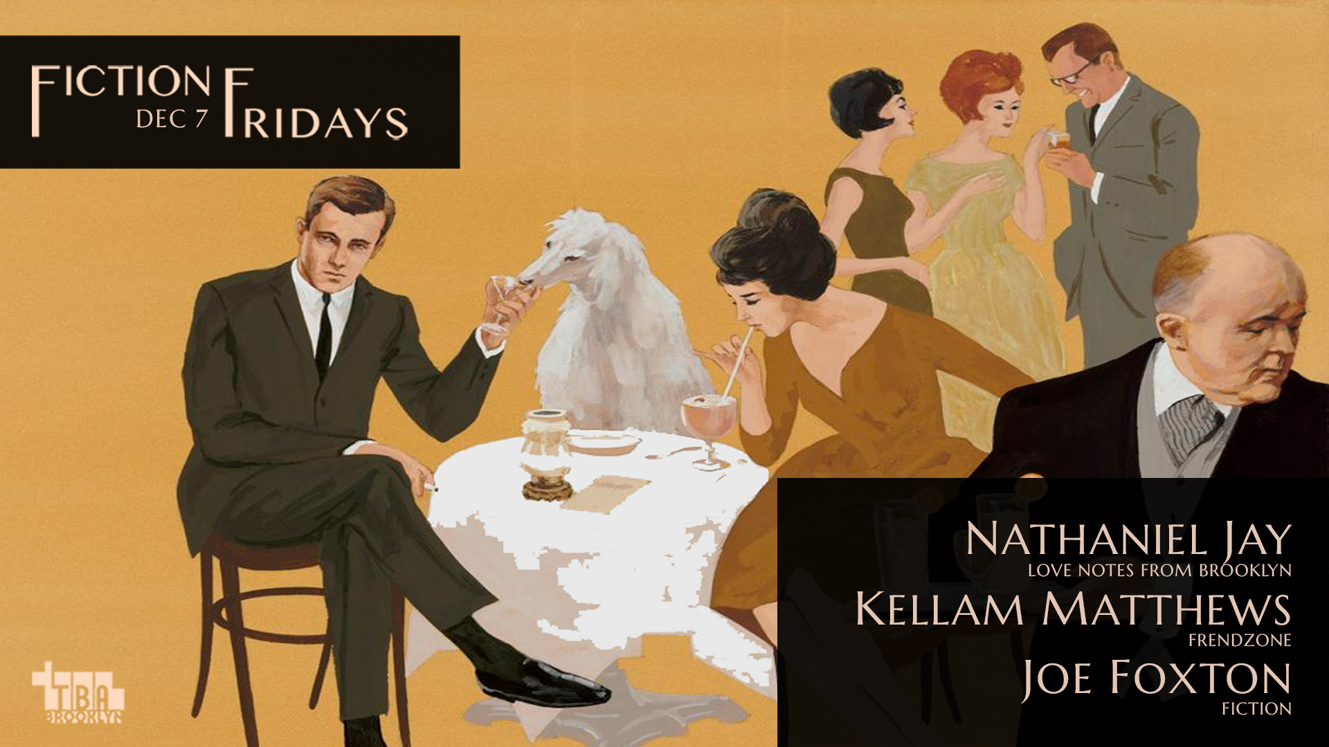 Fiction Fridays Flyer