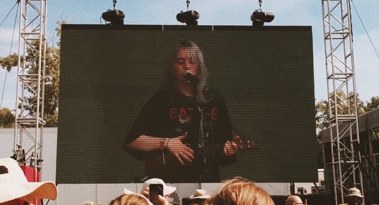 billie eilish. - billie eilish festival appearance. bonnaroo, manchester tn.