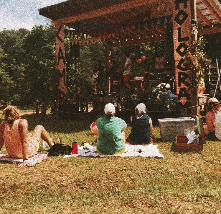 camp hologram. - music + arts festival. salad river club, greenville sc.
