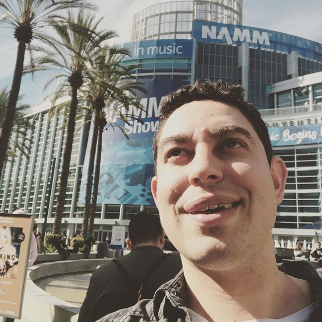 First time to NAMM if you me come say hello