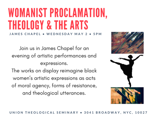 Womanist Proclamation, Theology & the Arts