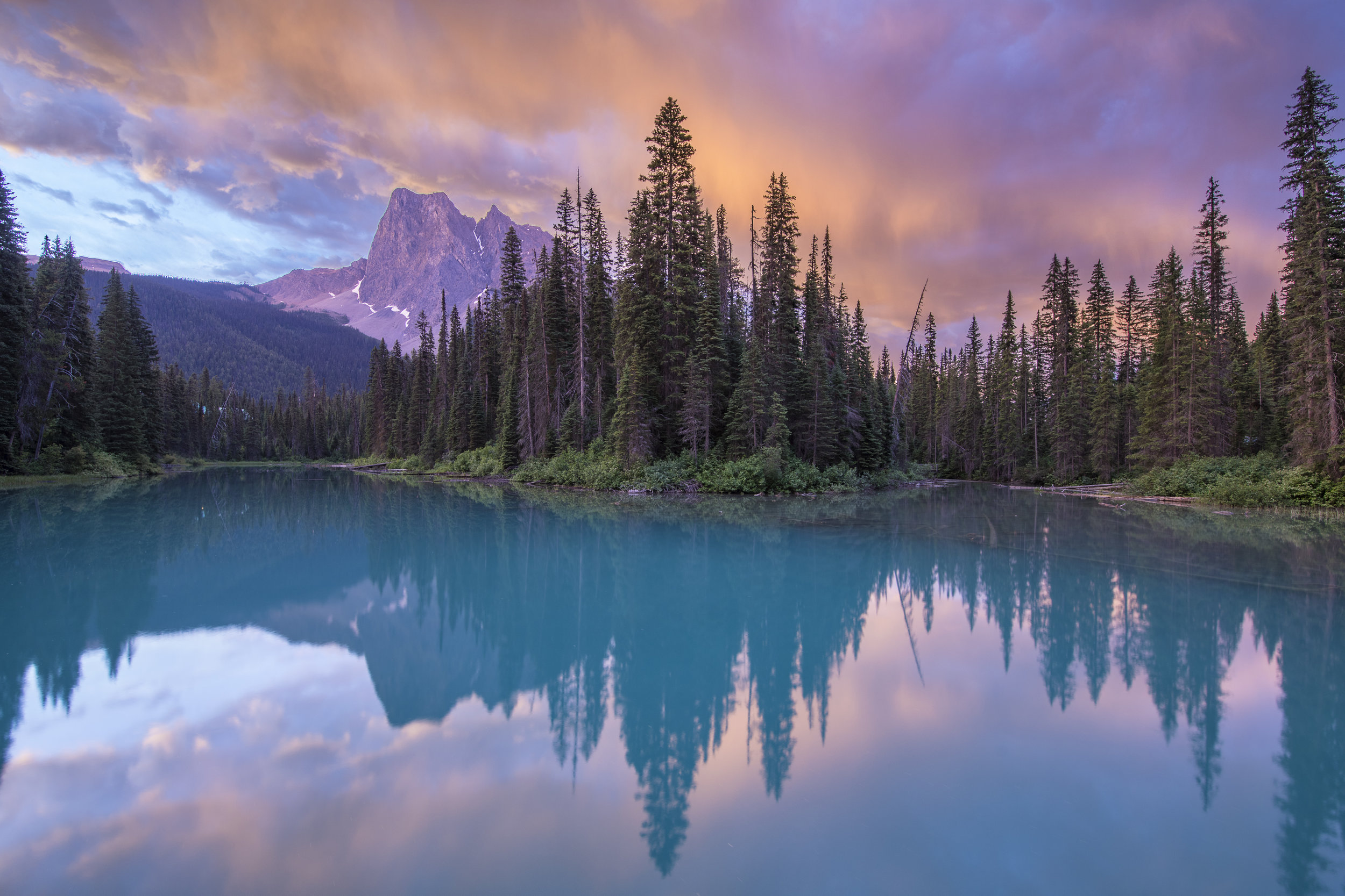 Emerald Lake, Yoho, BC, Canada