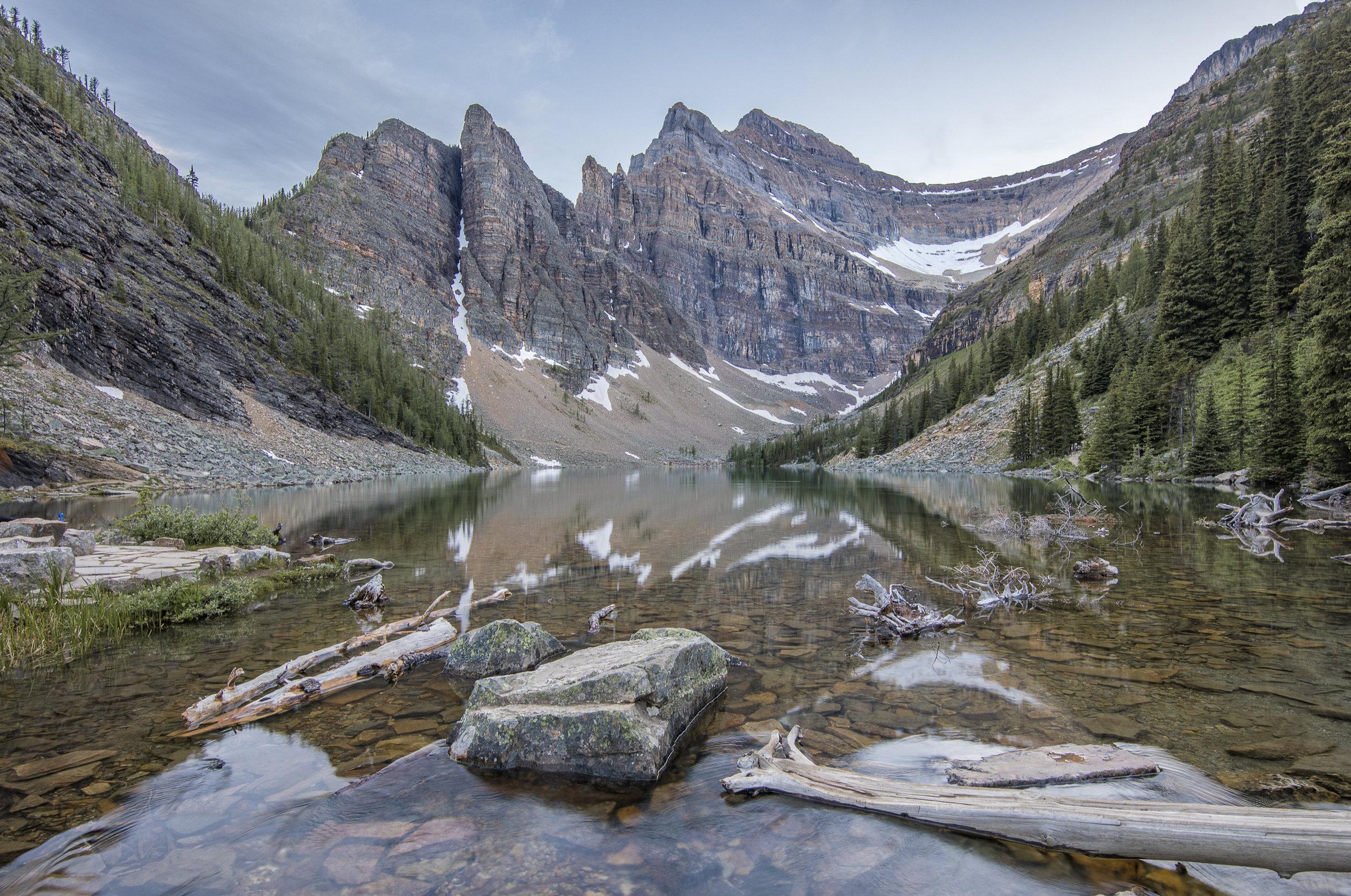 Agnes Lake,   Banff, Canada