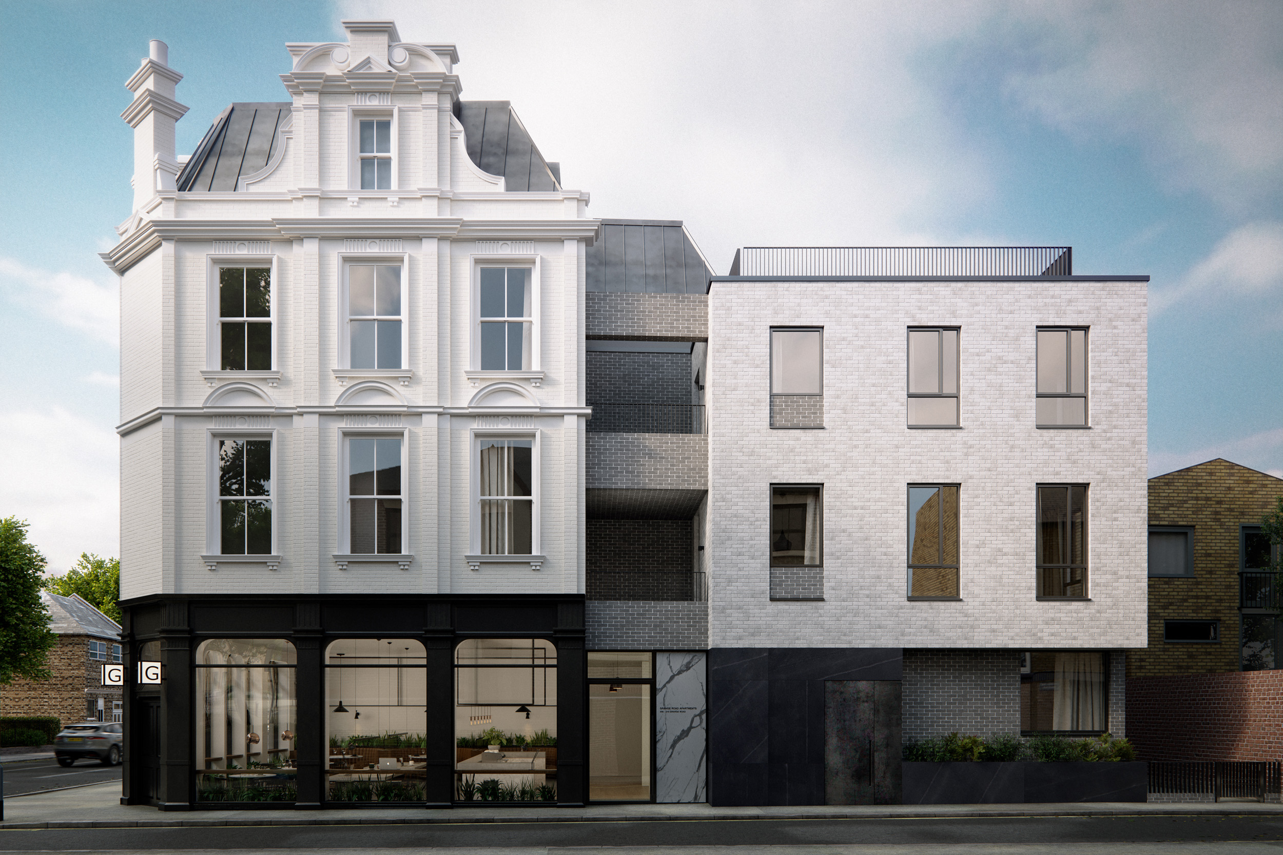 Grange Road London Architectural Visualisation-001