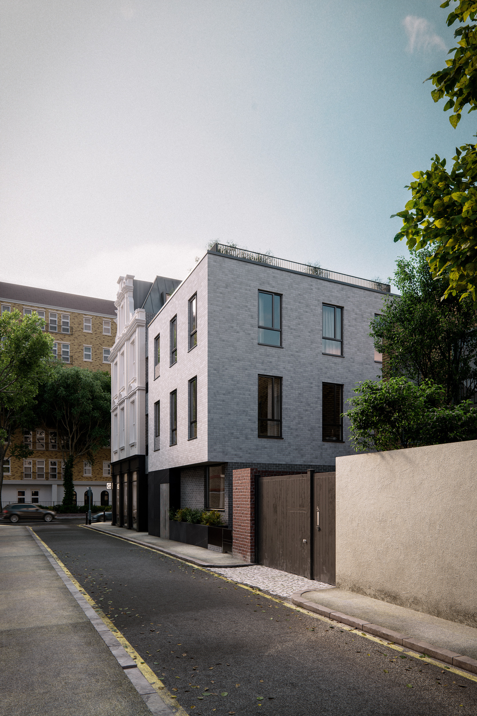 Grange Road London Architectural Visualisation-010