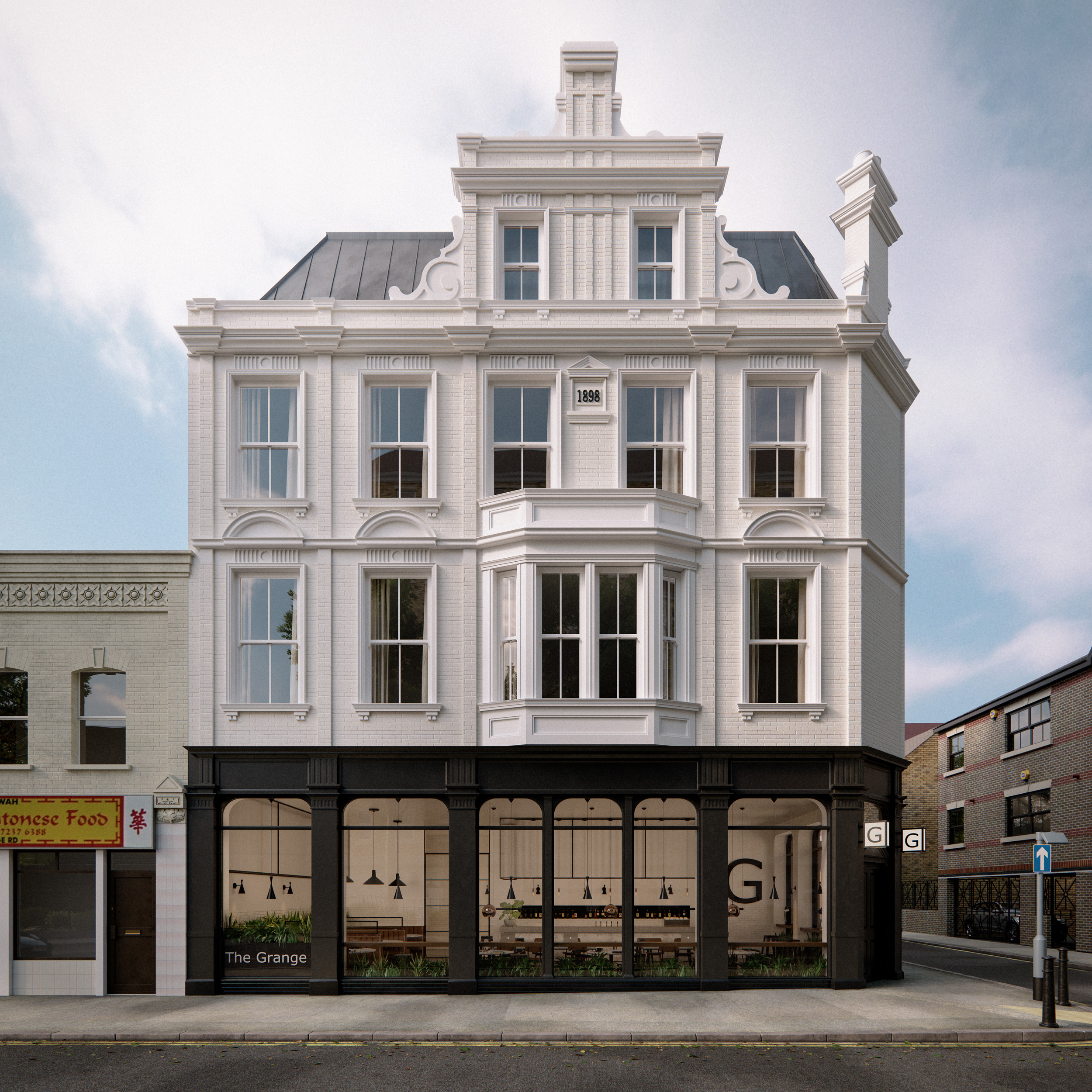 Grange Road London Architectural Visualisation-012