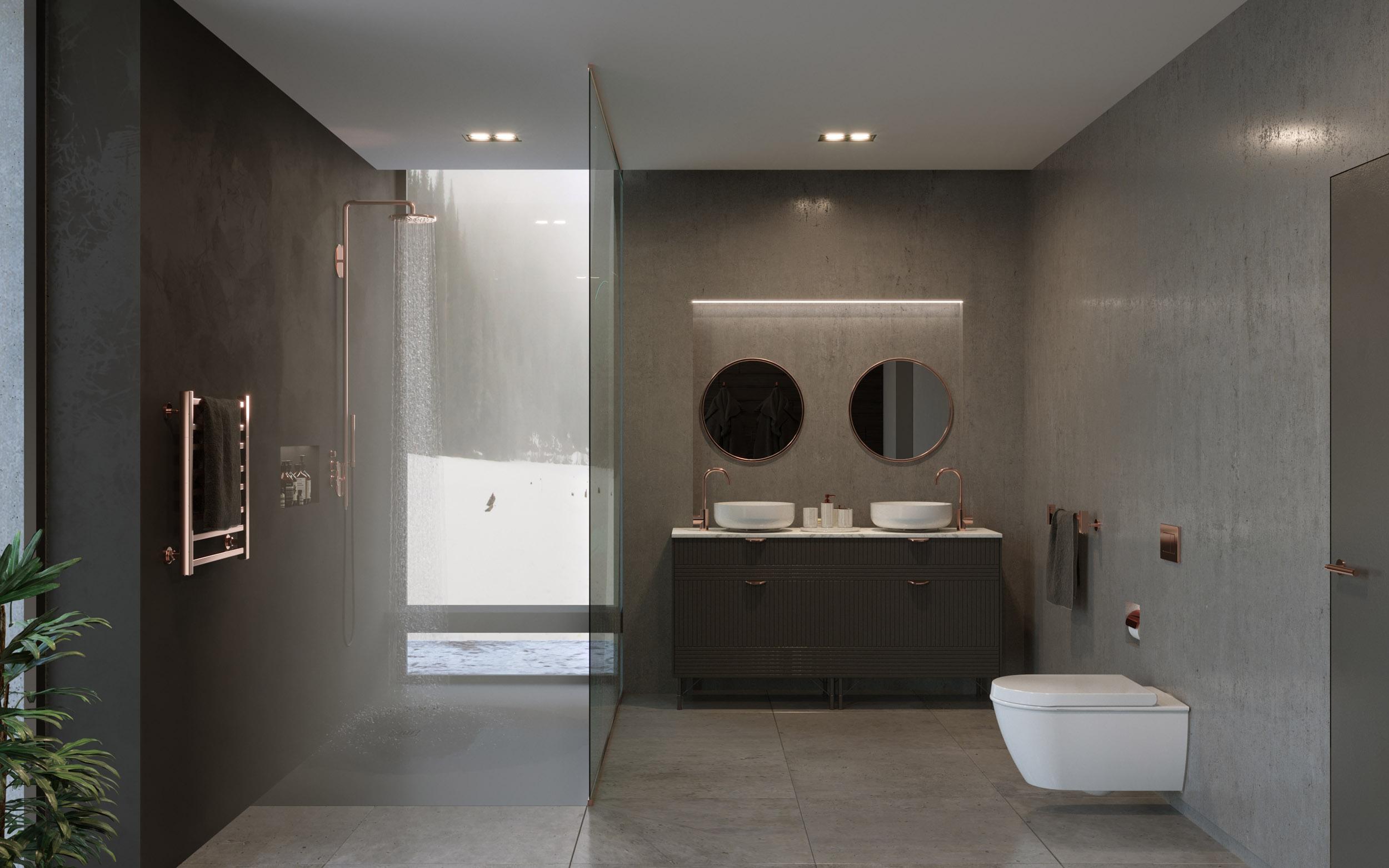 Chalet Noir Architectural Visualisation-005