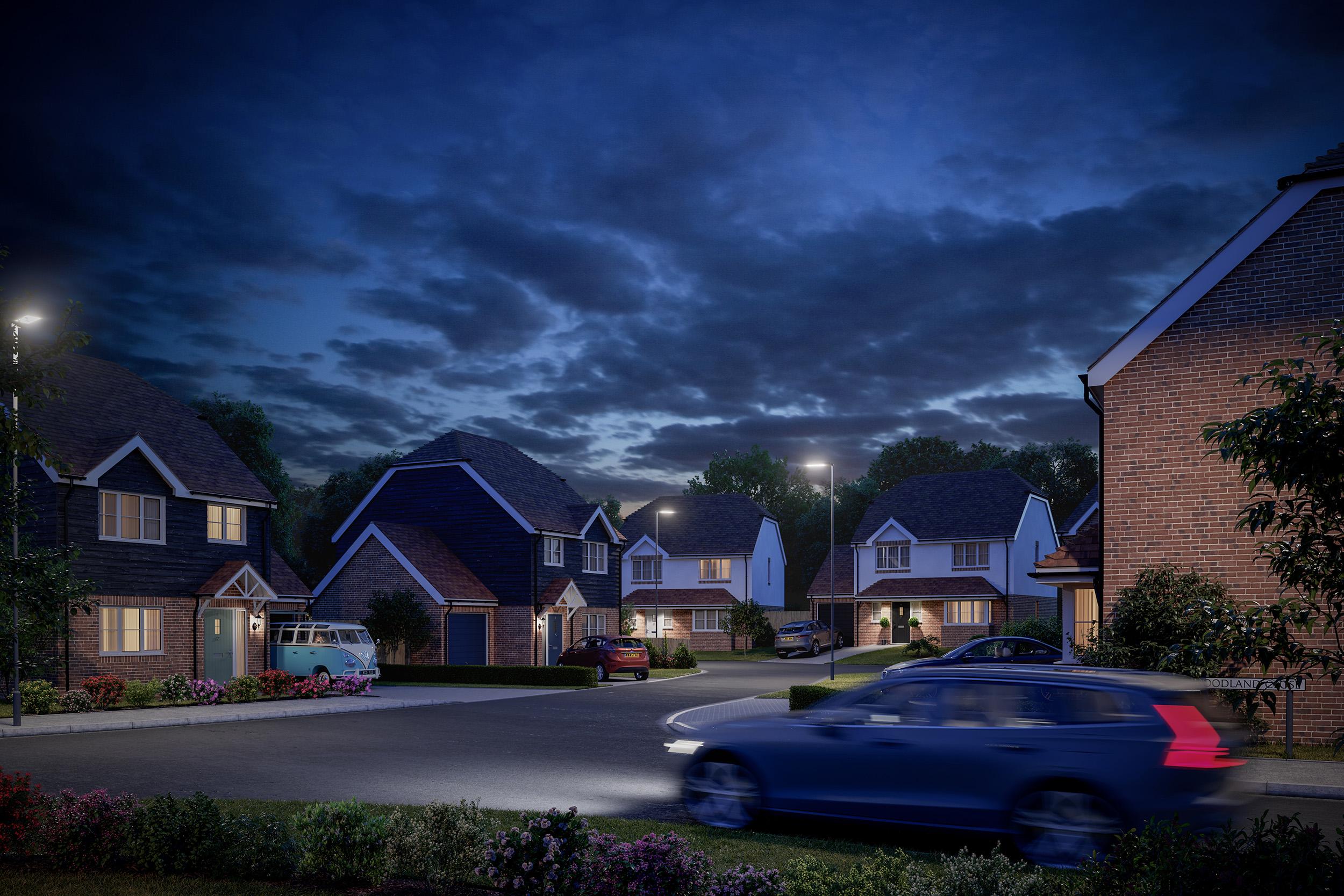 Woodland Close Architectural Visualisation-001