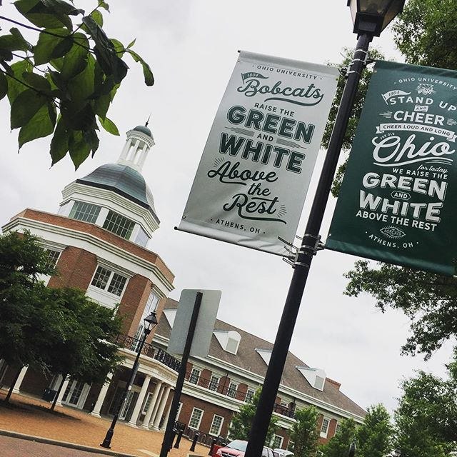 Visited Ohio University today. Athens is a very cool place.