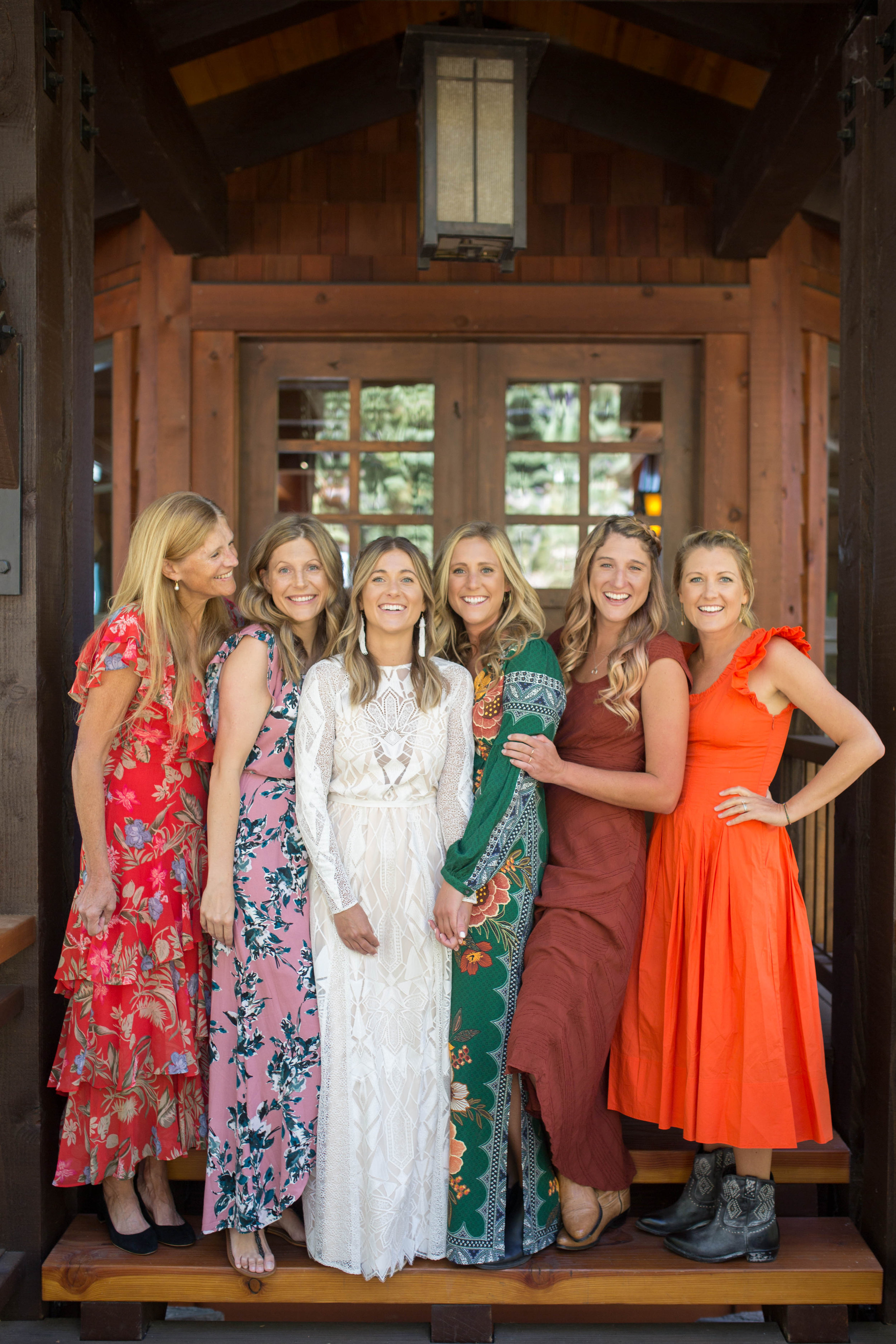 bridesmaids tahoe north lake mansion