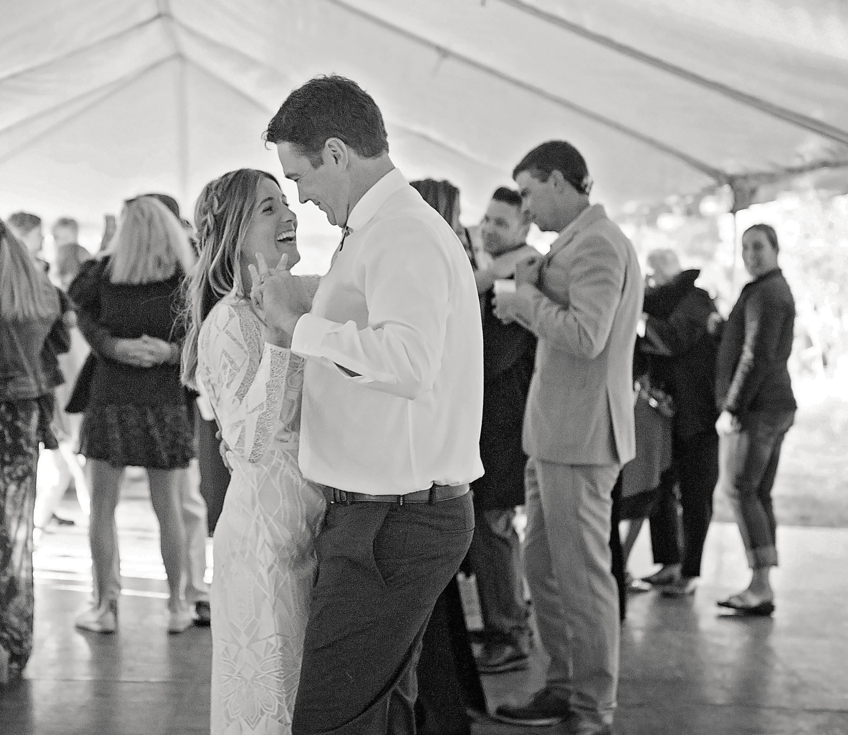Alpine Meadows Wedding tahoe newylweds dance first
