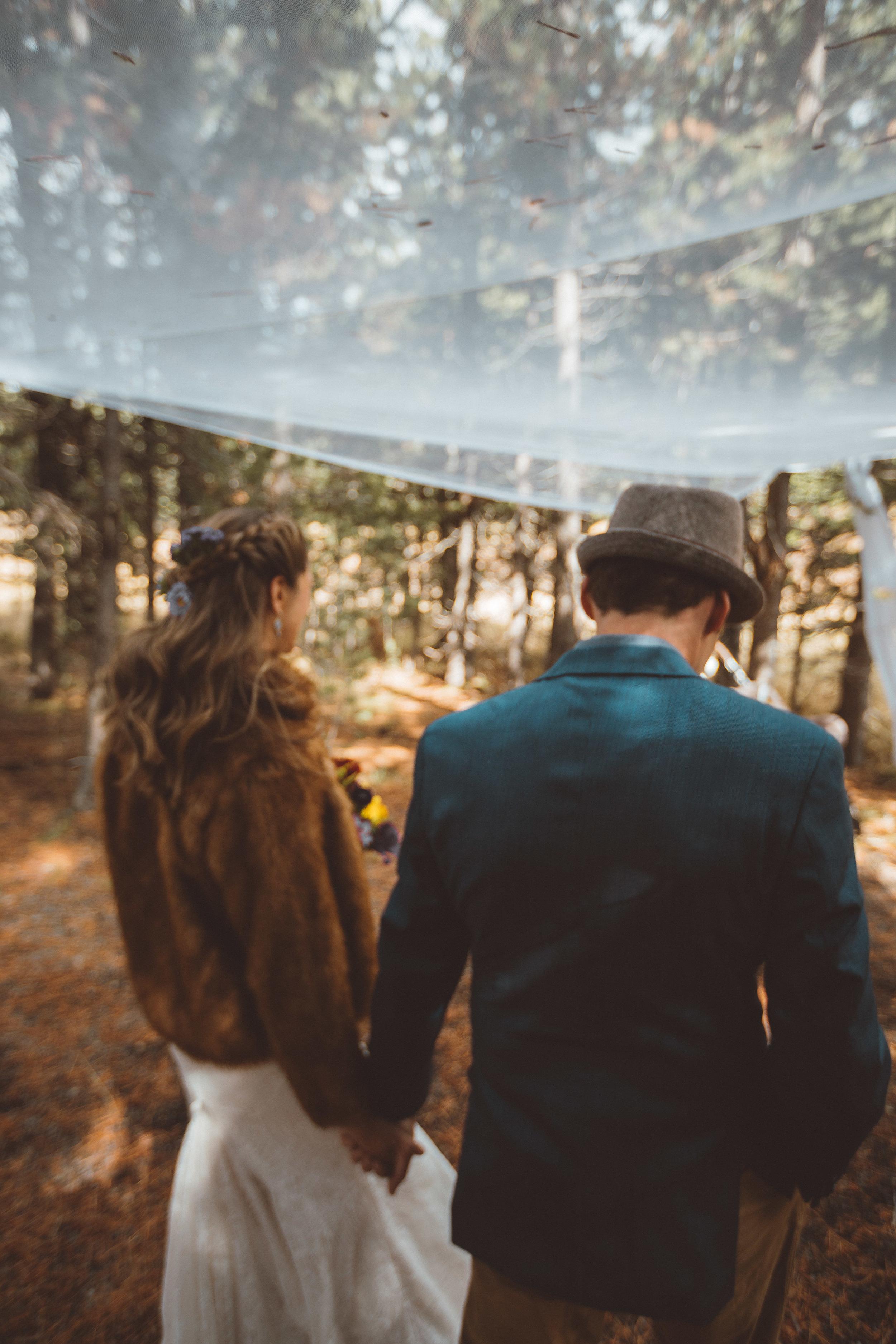 lake tahoe wedding married newlywed