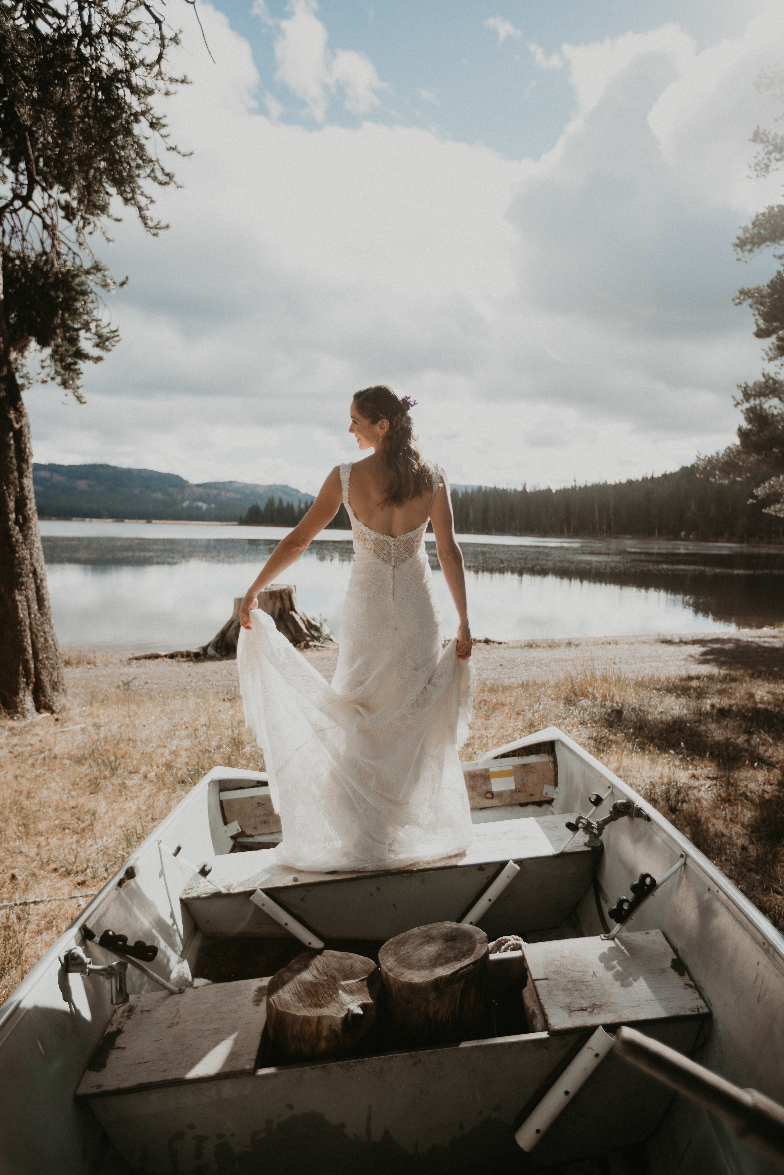 bride campground lake tahoe silhouette beach beautiful