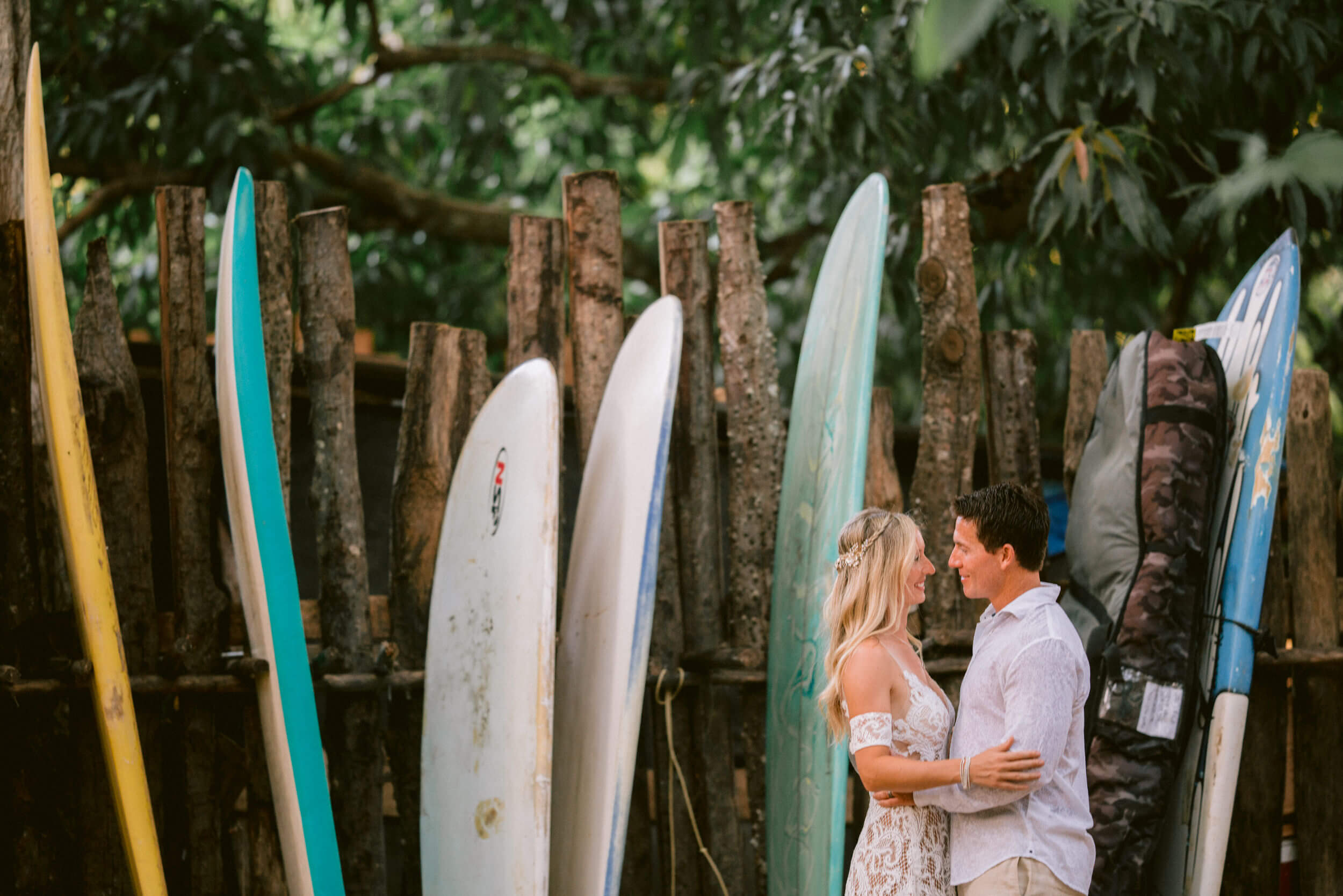 surfer destination wedding beach sexy romantic costa rica tamarindo