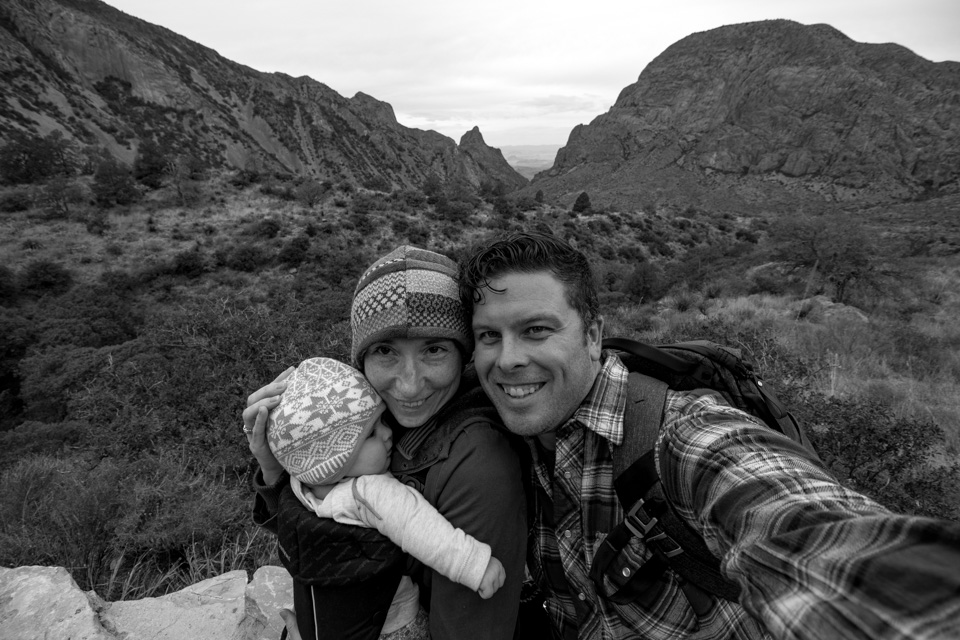 One of my favorite pictures from Big Bend National Park. Adaline's first visit last year when she was just five months old. (Photo by Travis Swicegood)