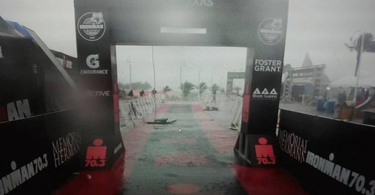 This is a pic from Bicycle World teammate Shelia Crenshaw, who was on her way to crushing her race when the storm hit. (I didn't get many photos because my phone was stranded in my bag in the storm.)