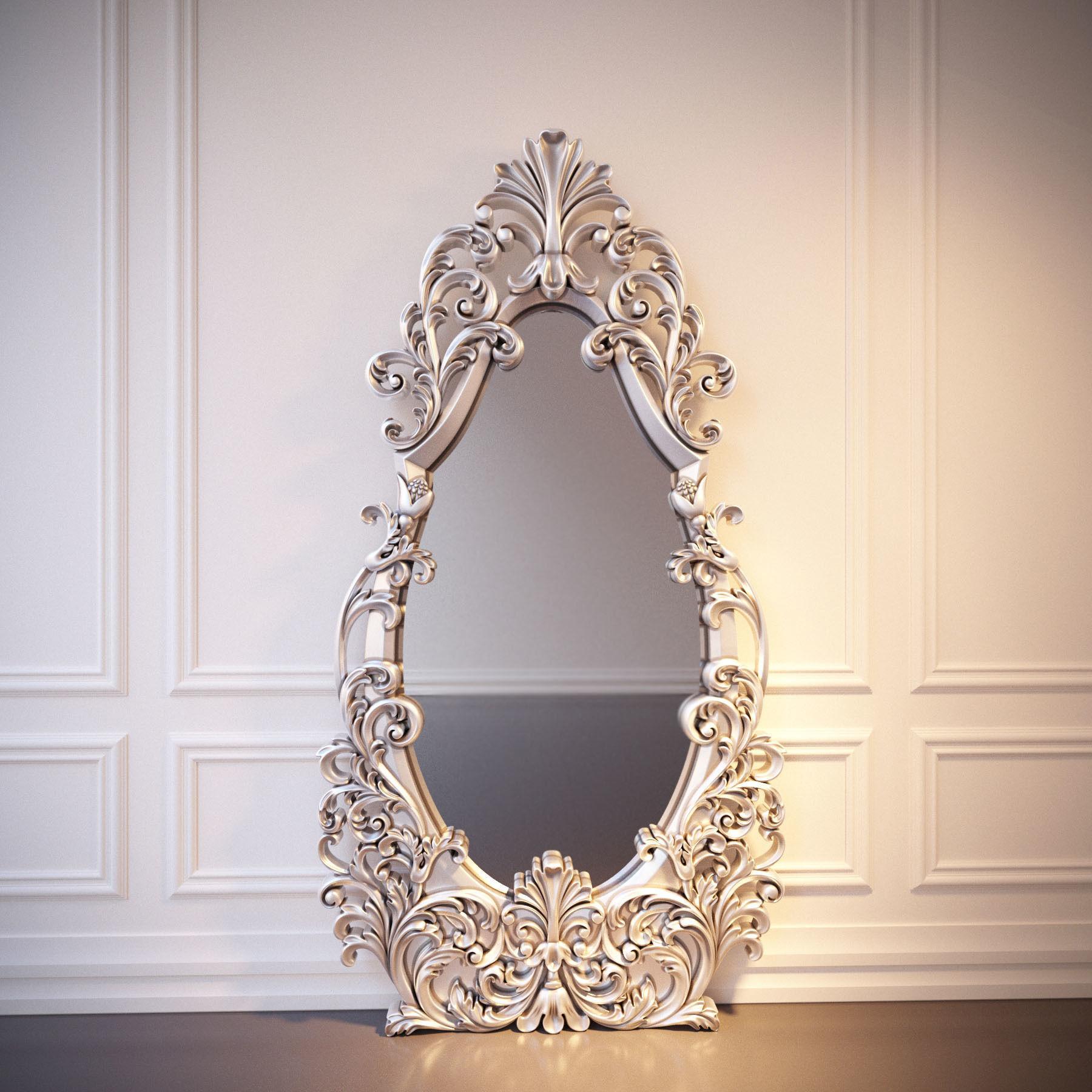 frame-mirror-3d-model-max-fbx-stl.jpg , archival pigment print, 2018