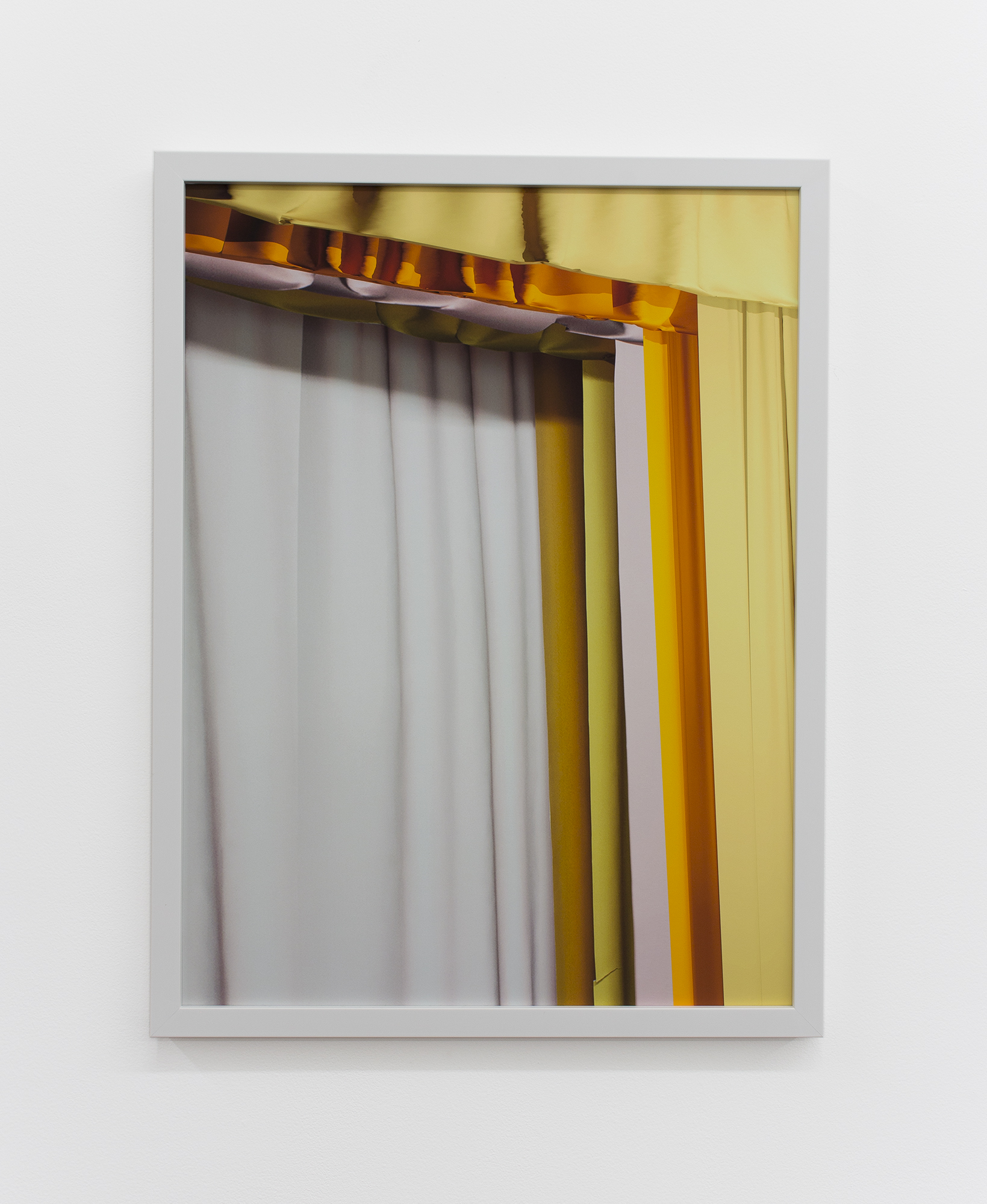installation view of  An Imitation of Truth,  archival pigment print, 2017  image courtesy of ADDS DONNA
