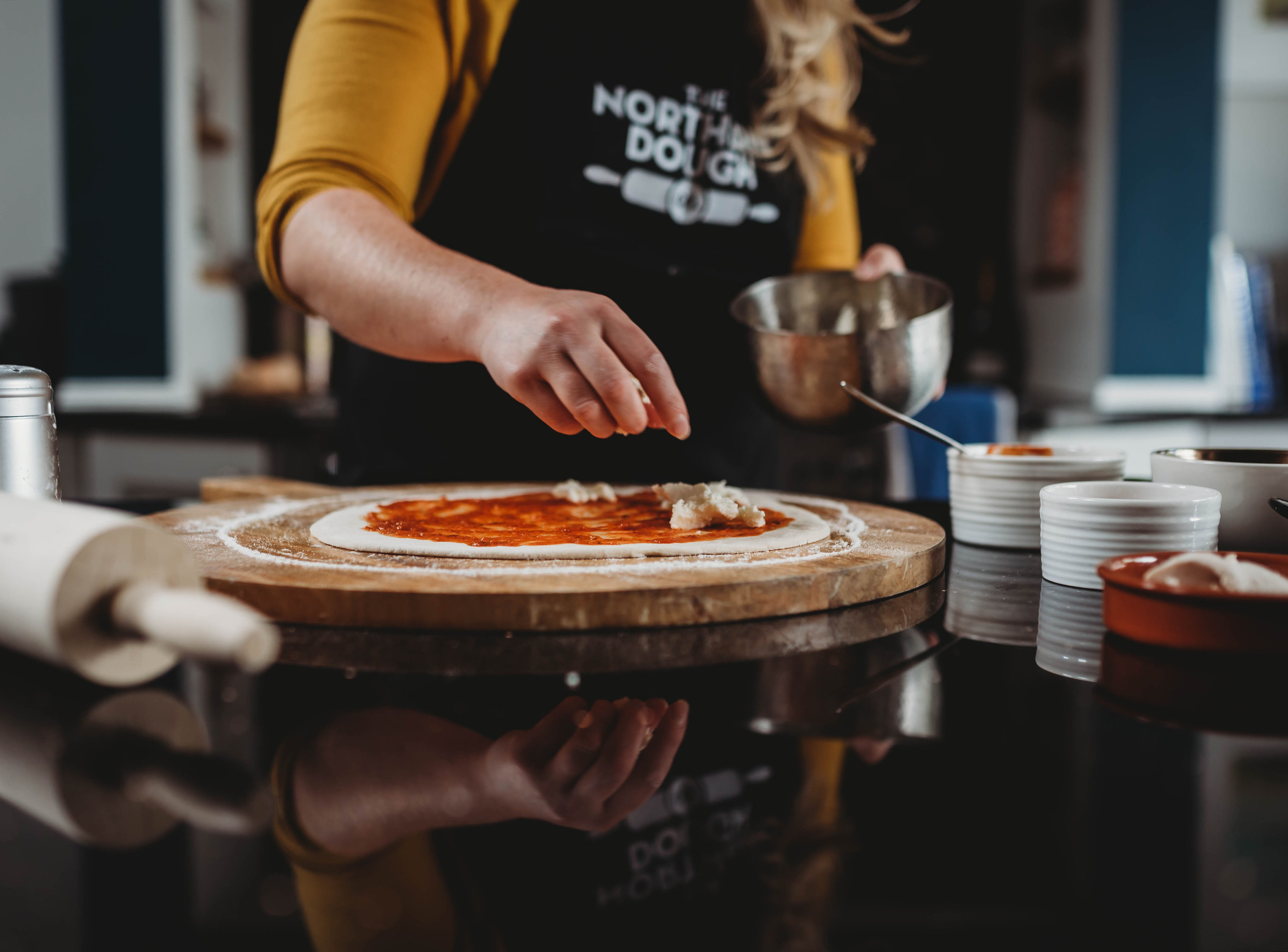"""""""We had ten members of our family behind a two metre stand with our dough and a huge amount of toppings to get across what our product was all about. We sold out of our whole day's stock in just one hour!"""" -"""
