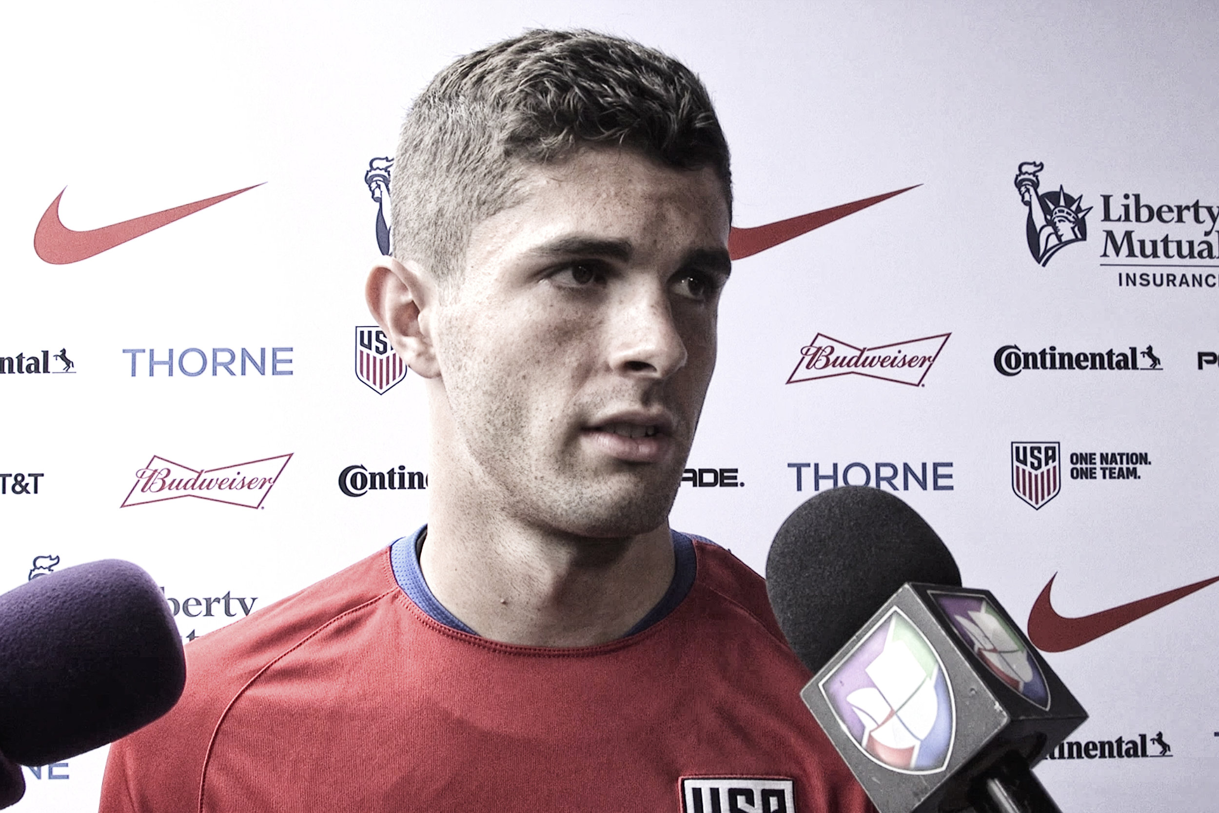Christian Pulisic discusses the pressure for the US mens team to beat Panama to stay alive in World Cup Qualifying.