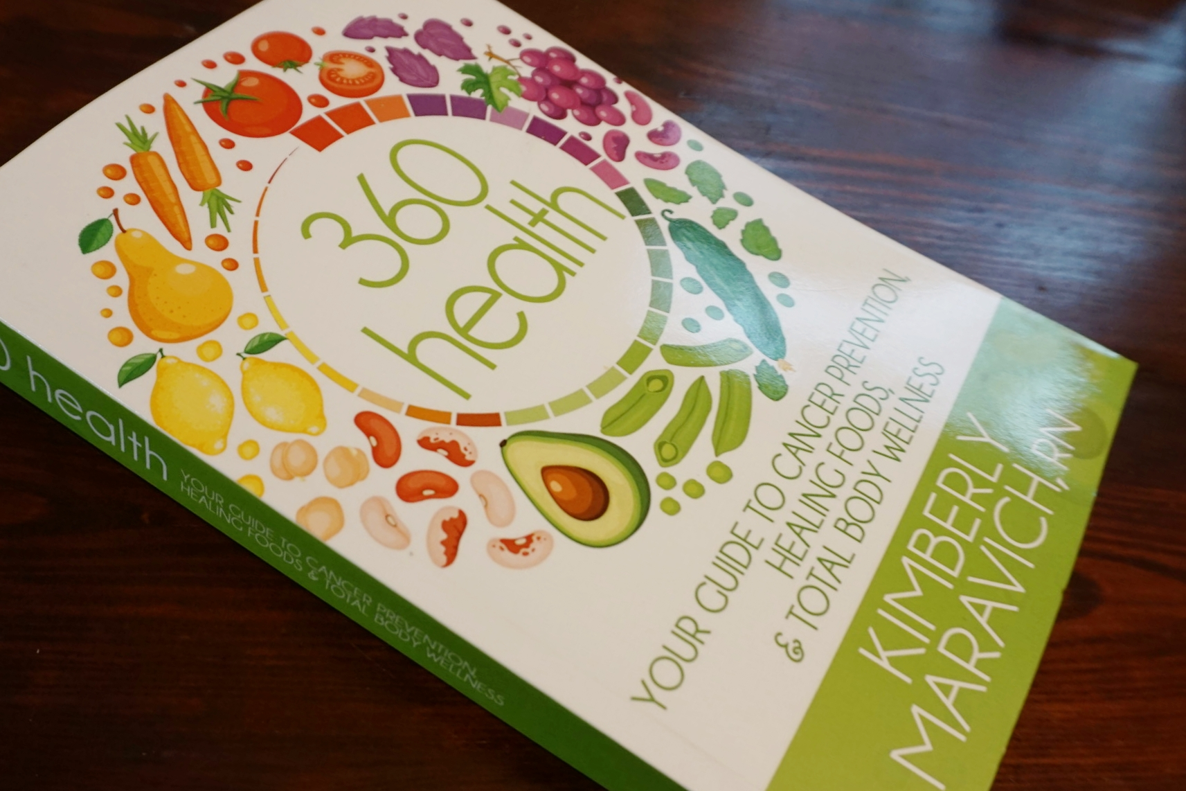 Wellness book on nutrition, disease prevention, supplements, weight loss, exercise, sleep, detoxification.