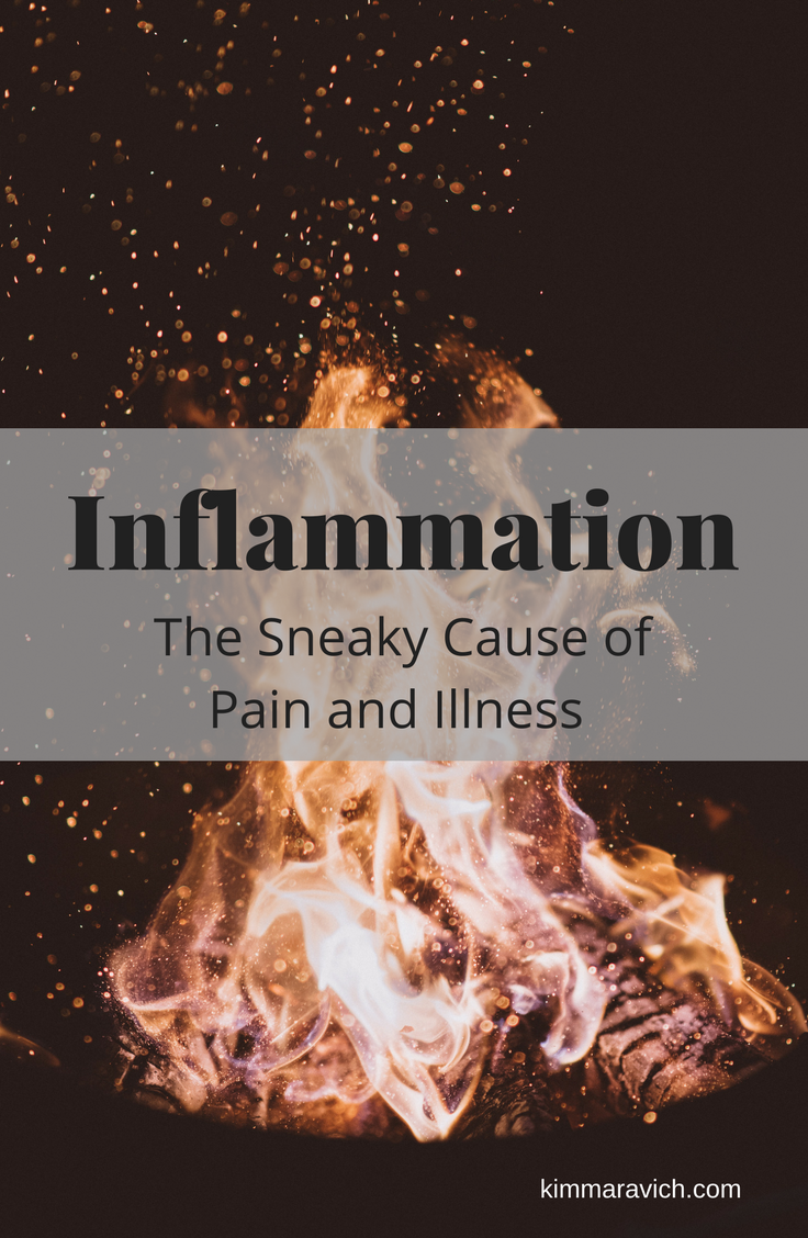 Inflammation can lead to disease and cancer, autoimmune conditions, and weight gain.