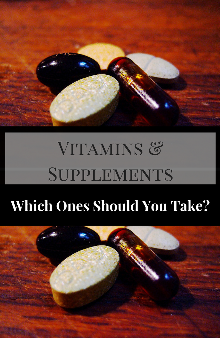 Vitamin recommendations, vitamins and minerals, nutritional supplements