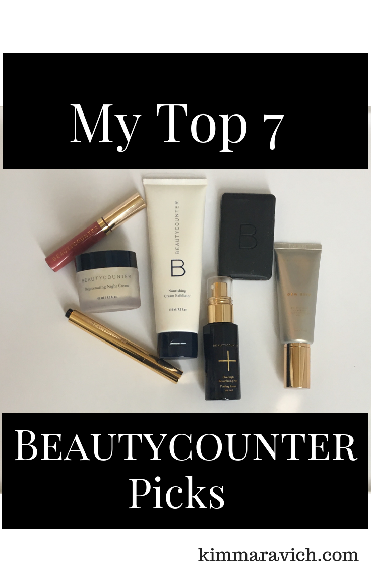 Beautycounter, Dew Skin moisturizing coverage, Charcoal cleansing bar, Overnight resurfacing peel, Touchup skin concealer pen, Rejuvenating night cream, Nourishing cream exfoliator, Lip gloss in Dahlia, better beauty, non-toxic, Never List, SPF, jojoba beads, coconut oil, jambu extract, anti-aging