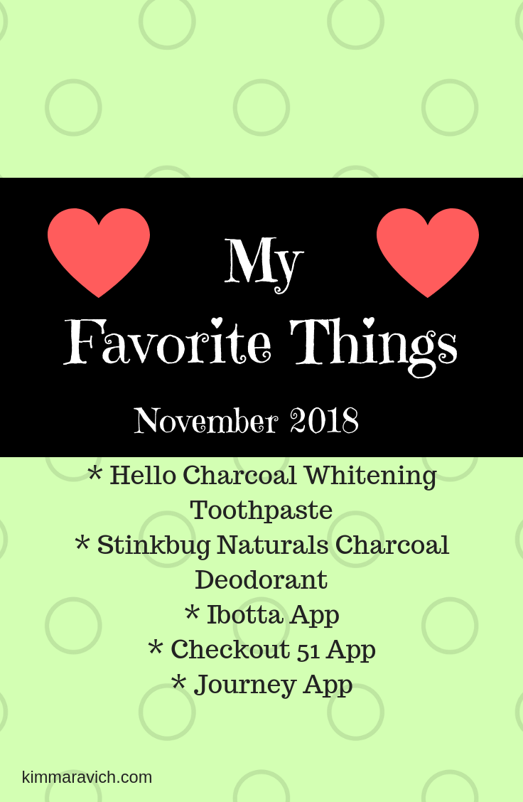 charcoal toothpaste, Hello brand, Stinkbug Naturals, Stinkbug charcoal deodorant, Ibotta, Checkout 51, Journey app, journaling, gratitude, fluoride-free, aluminum-free, earn money, cash back
