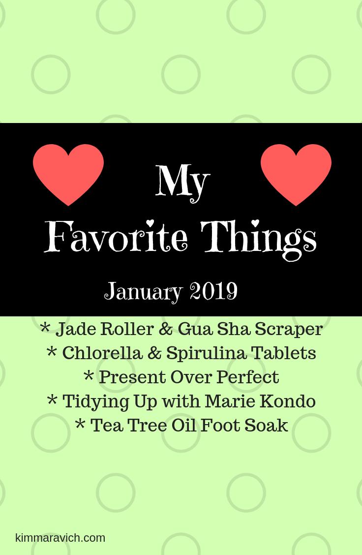 Jade roller, gua sha, Present Over Perfect, chlorella, spirulina, tidying up, Marie Kondo, tea tree oil, foot soak, detoxification, declutter