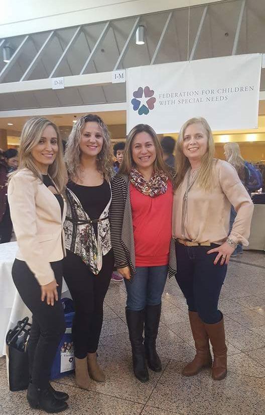 Professores participam da Conferência Anual da Federação de Professores com Necessidades Especiais.