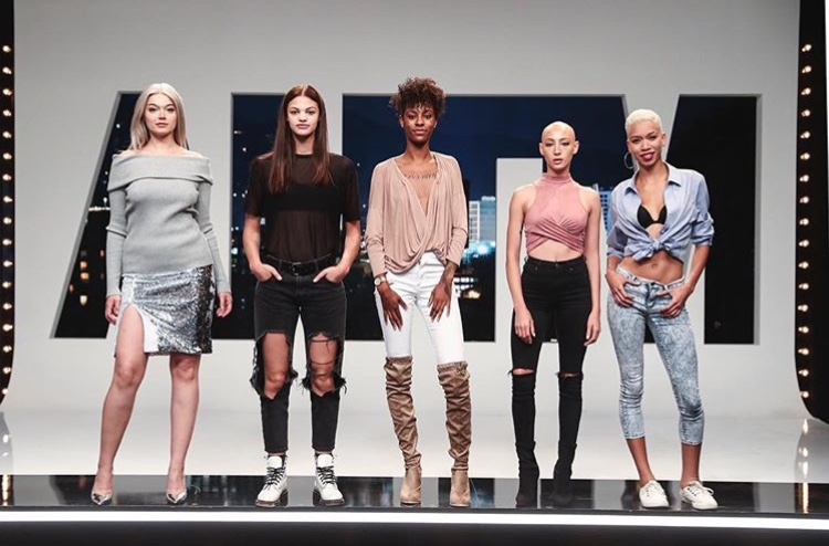 The final five models feeling fierce af